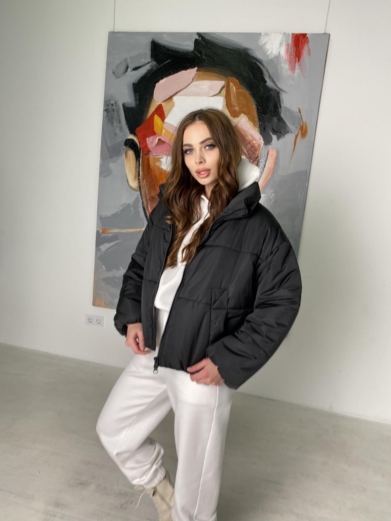 Драйв куртка из плащевой ткани 10448 АРТ. 46842 Цвет: Черный - фото 7, интернет магазин tm-modus.ru