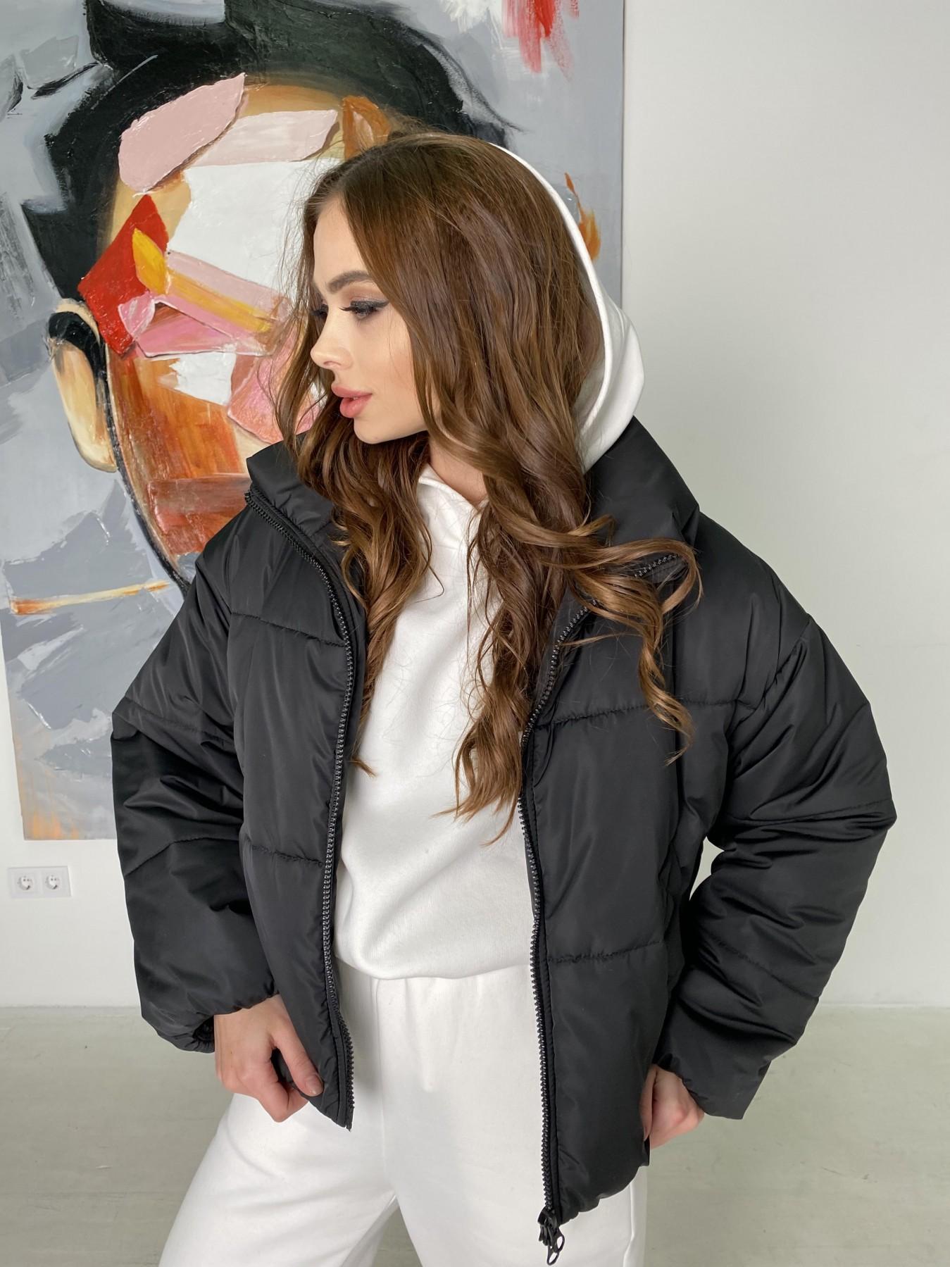 Драйв куртка из плащевой ткани 10448 АРТ. 46842 Цвет: Черный - фото 8, интернет магазин tm-modus.ru