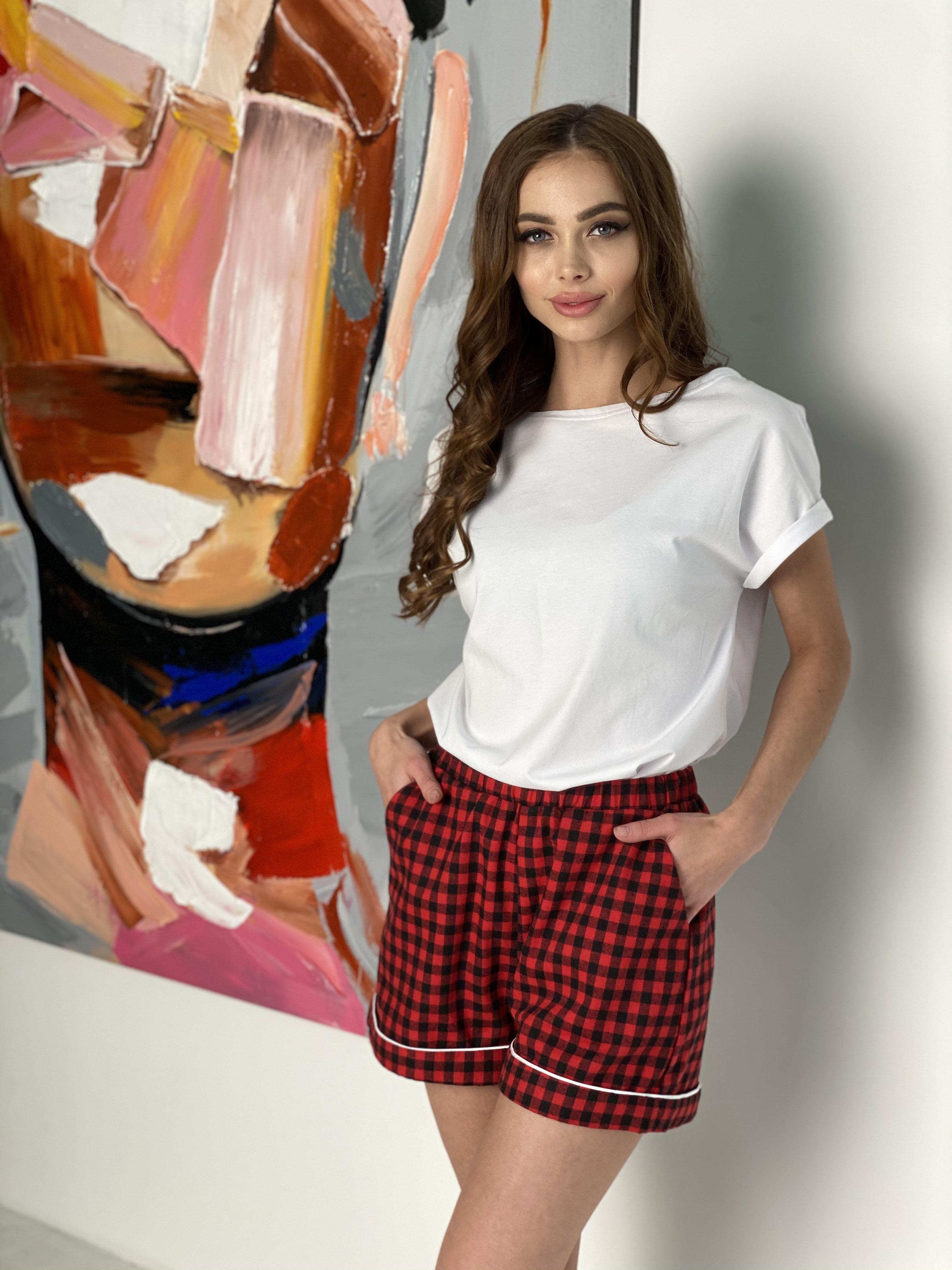 Женские костюмы оптом от производителя Modus Тедди комплект  (шорты футболка) 10484