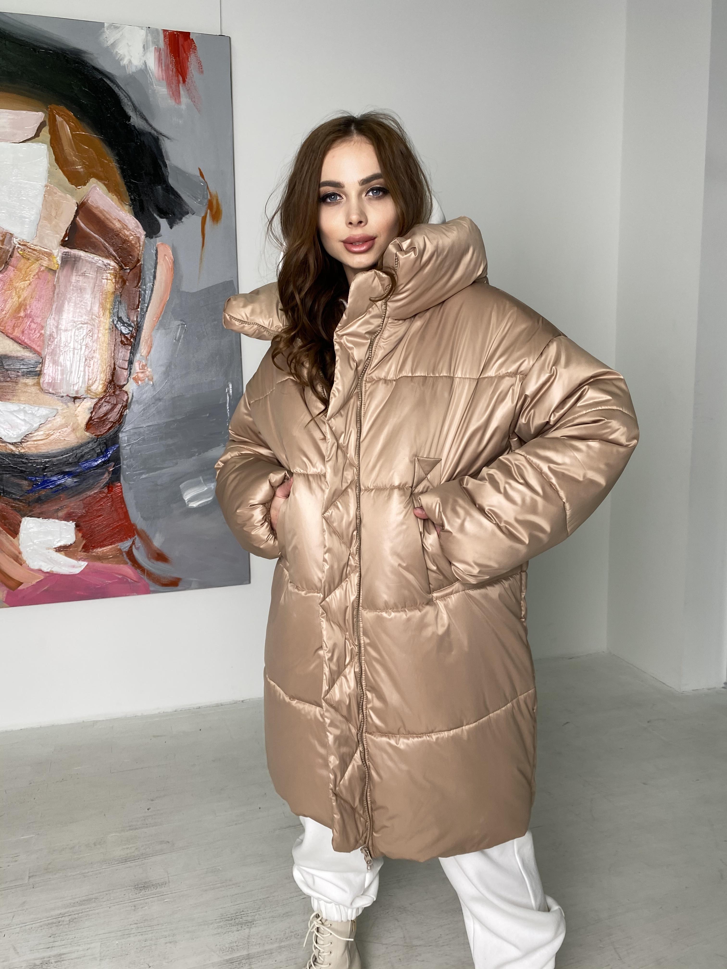 куртки демисезонные женские Харьков Френд пуховик из матовой плащевой ткани  10105