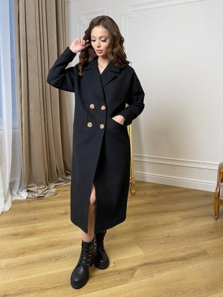 """Купить """"Сенсей"""" пальто макси из кашемира   10309 оптом и в розницу"""