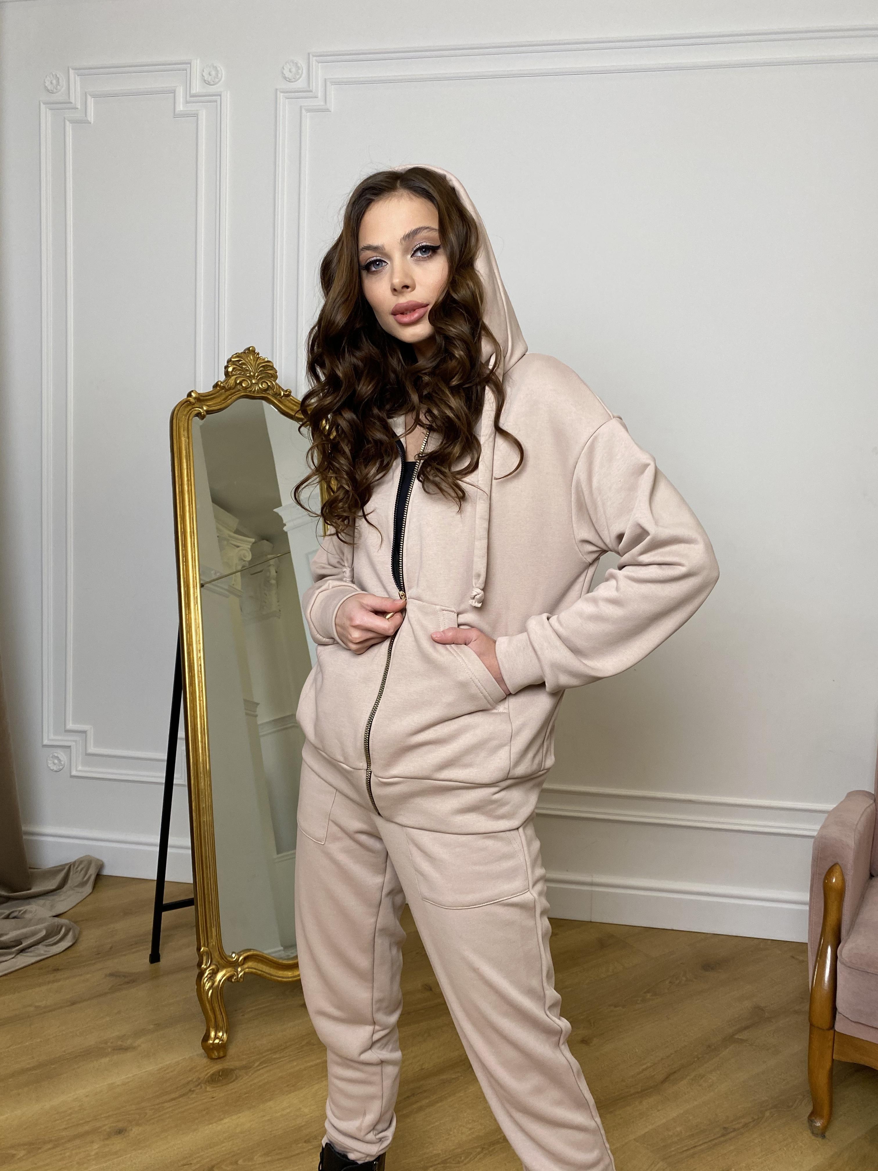 Брокер костюм  из 3х нитки  9634 АРТ. 45981 Цвет: Бежевый - фото 8, интернет магазин tm-modus.ru