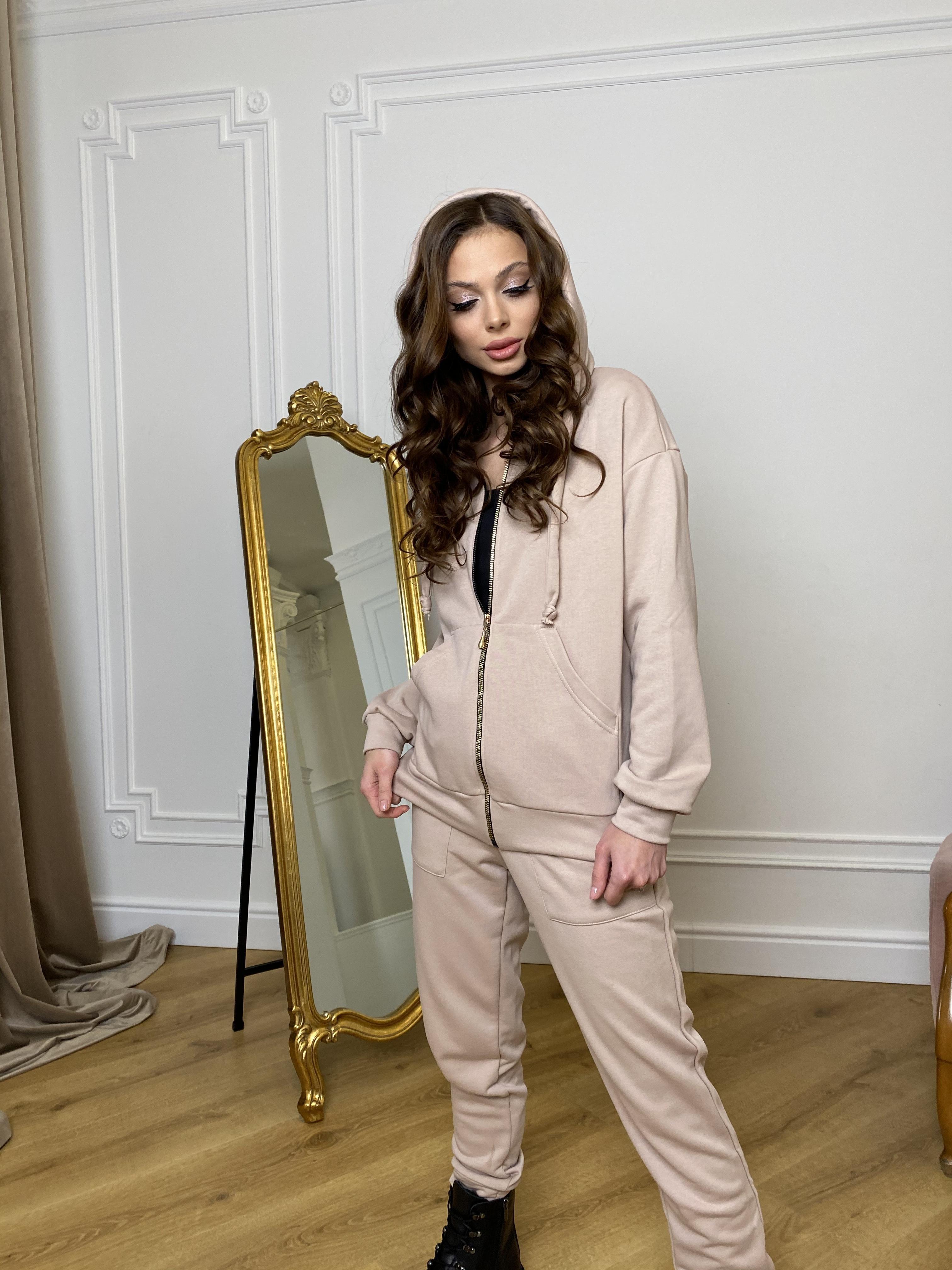 Брокер костюм  из 3х нитки  9634 АРТ. 45981 Цвет: Бежевый - фото 5, интернет магазин tm-modus.ru