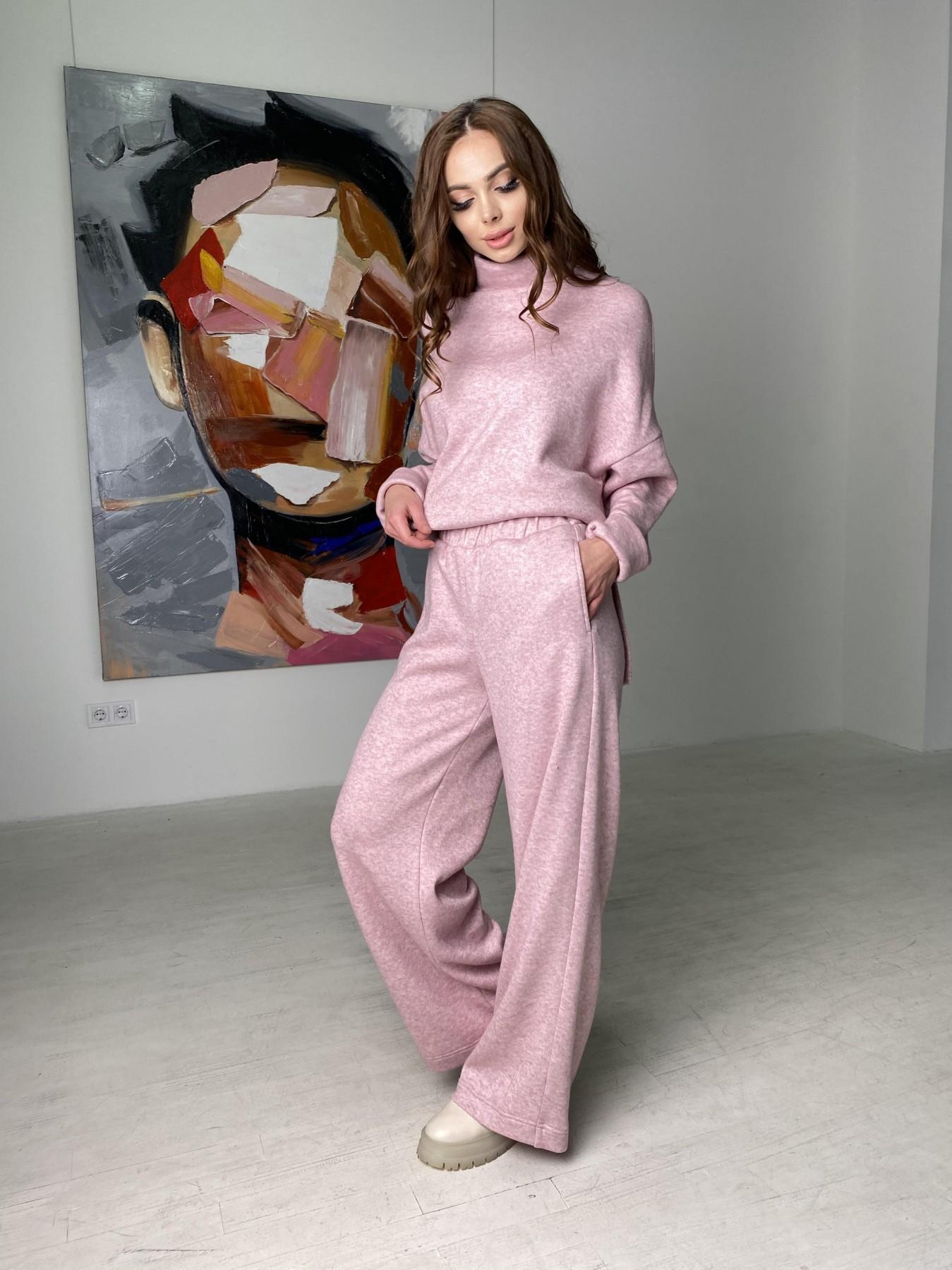 Лав Ю костюм из ангоры 10531 АРТ. 46872 Цвет: Розовый 2 меланж - фото 1, интернет магазин tm-modus.ru