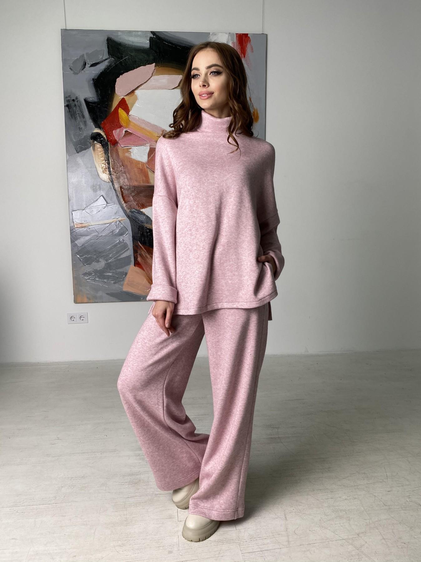 Лав Ю костюм из ангоры 10531 АРТ. 46872 Цвет: Розовый 2 меланж - фото 6, интернет магазин tm-modus.ru