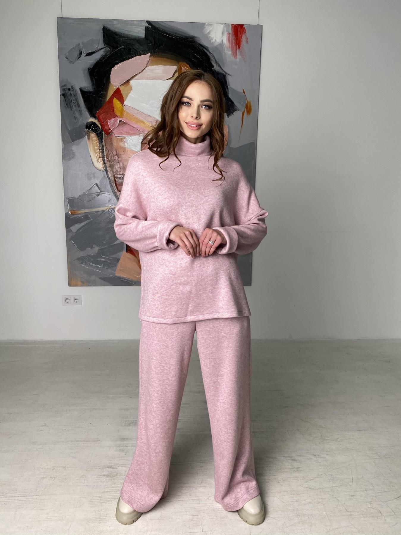 Лав Ю костюм из ангоры 10531 АРТ. 46872 Цвет: Розовый 2 меланж - фото 10, интернет магазин tm-modus.ru