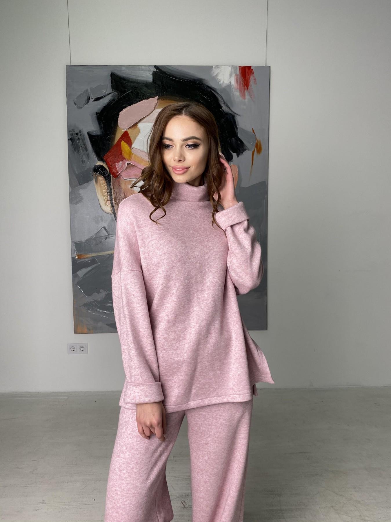 Лав Ю костюм из ангоры 10531 АРТ. 46872 Цвет: Розовый 2 меланж - фото 11, интернет магазин tm-modus.ru