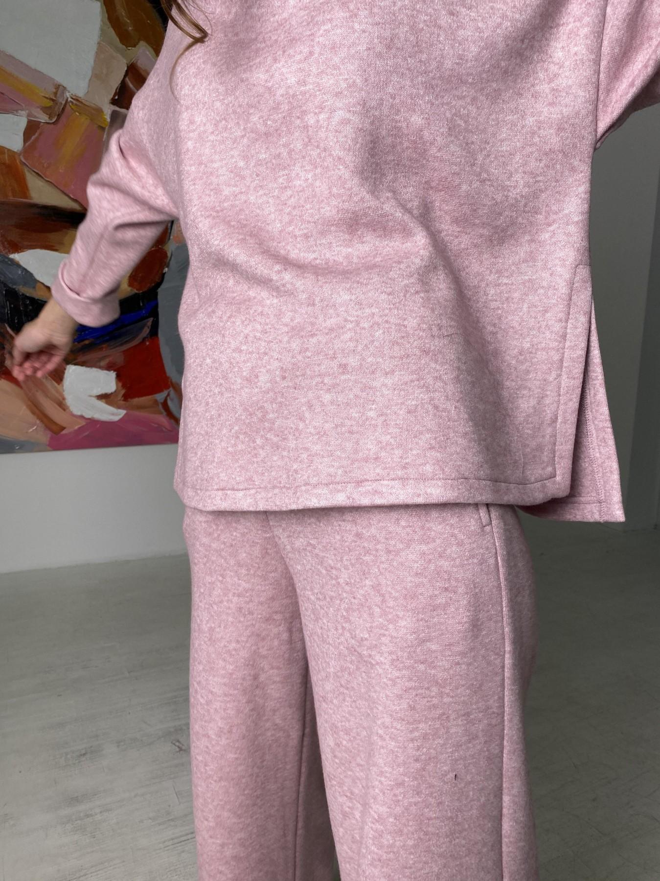 Лав Ю костюм из ангоры 10531 АРТ. 46872 Цвет: Розовый 2 меланж - фото 12, интернет магазин tm-modus.ru