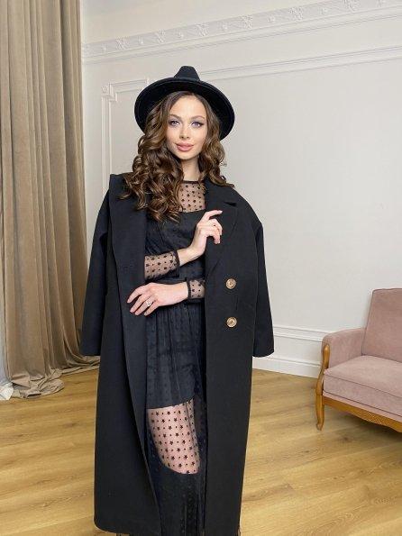 Астия  платьеиз фатина 8654  Цвет: Черный