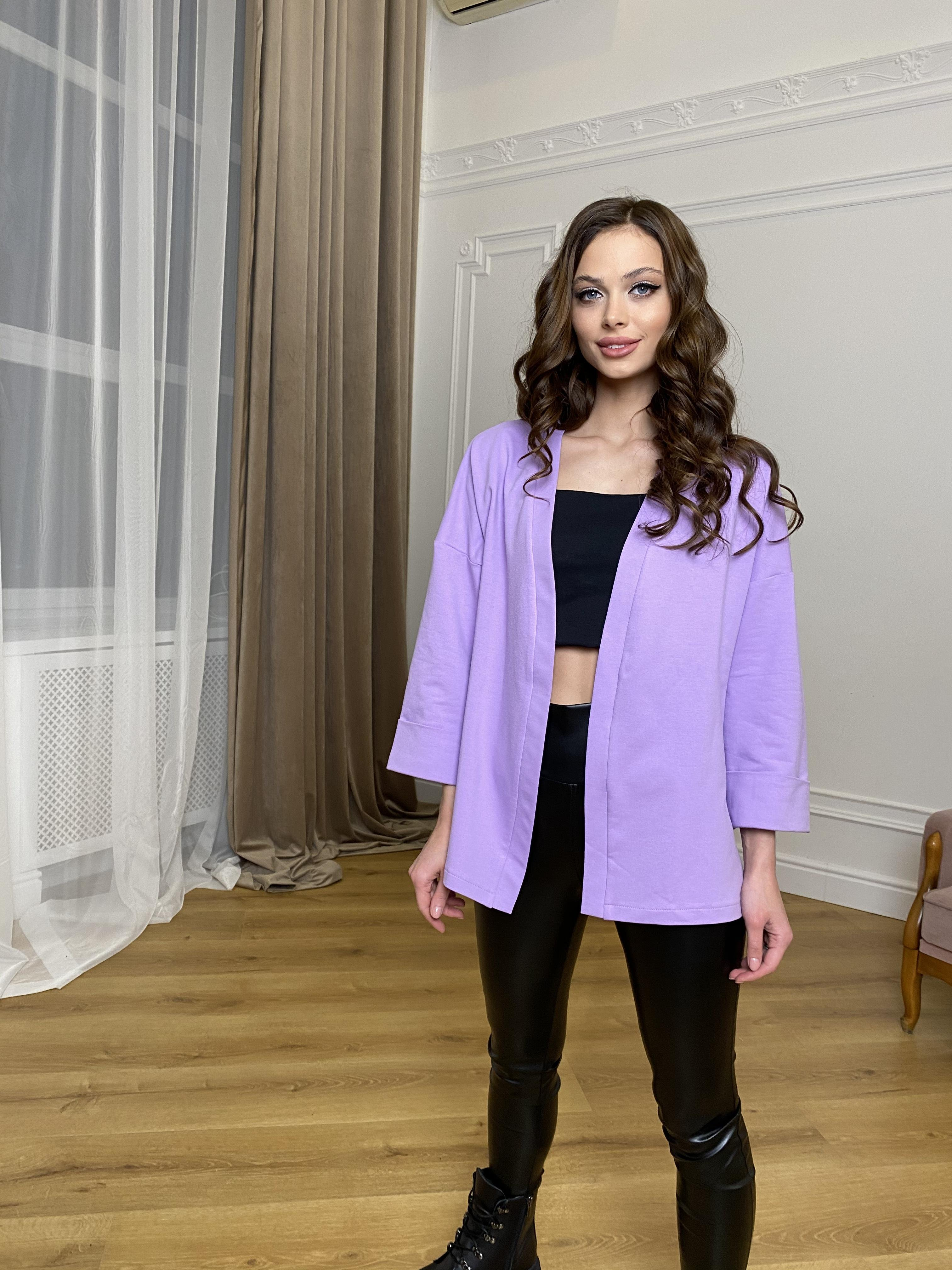 Жакет Лаванда 9665 АРТ. 45975 Цвет: лаванда - фото 2, интернет магазин tm-modus.ru