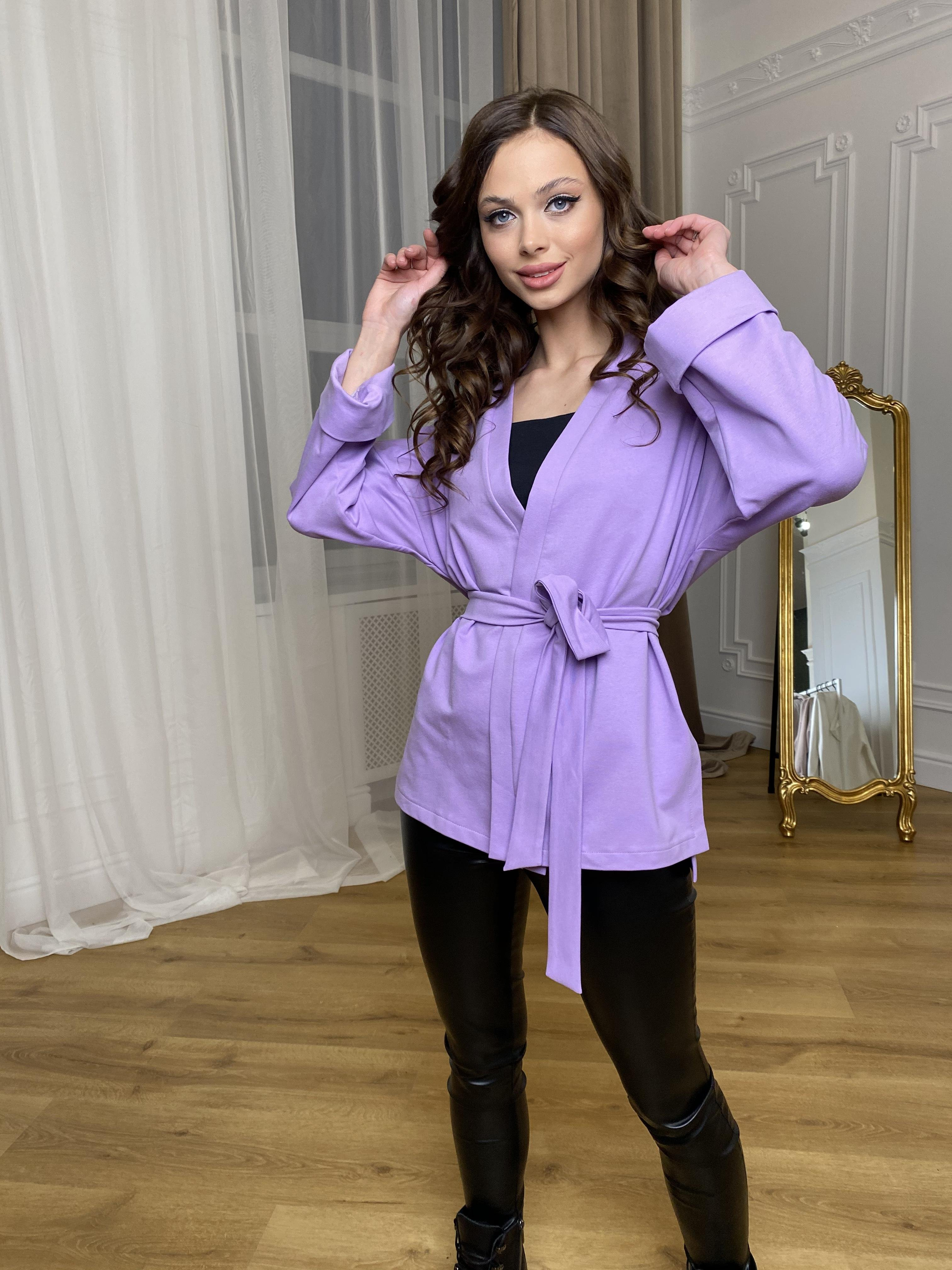 Жакет Лаванда 9665 АРТ. 45975 Цвет: лаванда - фото 7, интернет магазин tm-modus.ru