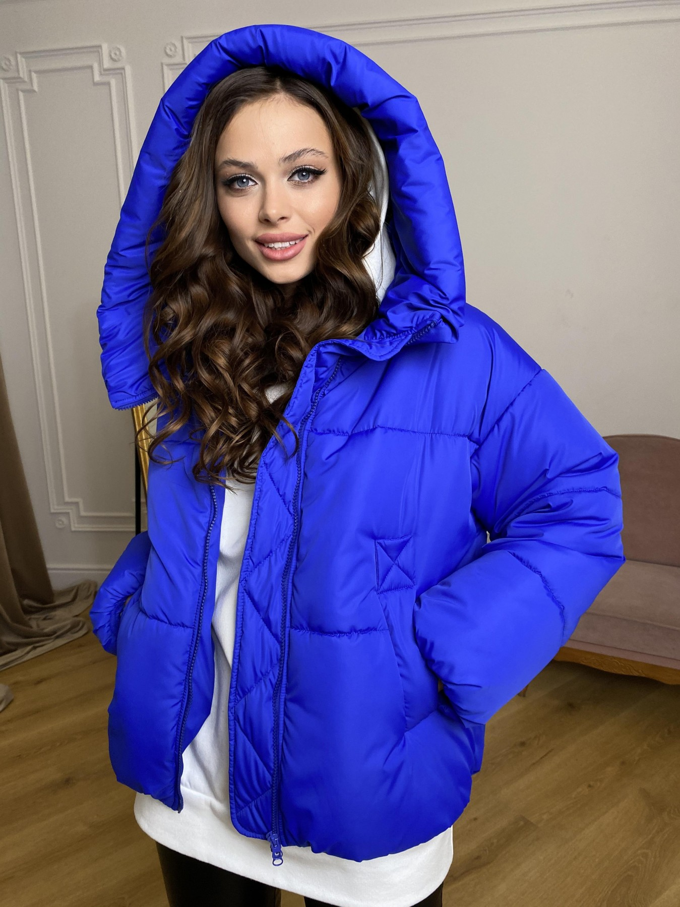 куртки демисезонные женские Харьков Нокс куртка из плащевой ткани 10535