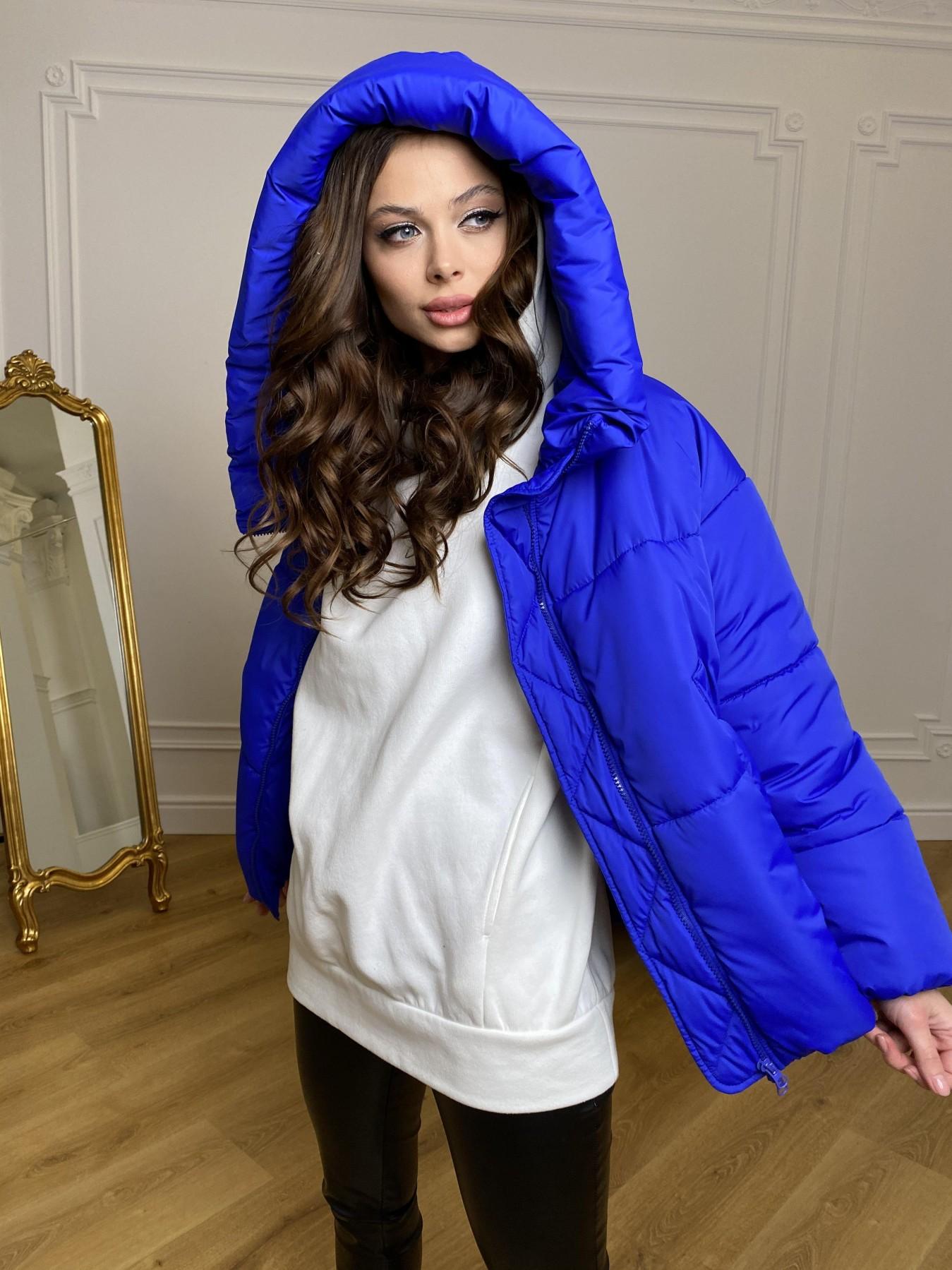 Нокс куртка из плащевой ткани 10535 АРТ. 46881 Цвет: Электрик 1052 - фото 4, интернет магазин tm-modus.ru