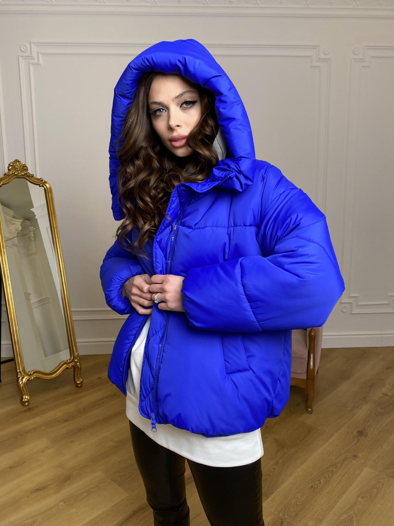 Нокс куртка из плащевой ткани 10535 АРТ. 46881 Цвет: Электрик 1052 - фото 6, интернет магазин tm-modus.ru