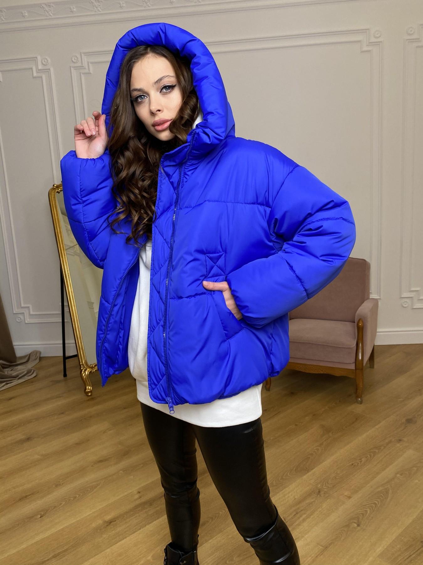 Нокс куртка из плащевой ткани 10535 АРТ. 46881 Цвет: Электрик 1052 - фото 8, интернет магазин tm-modus.ru