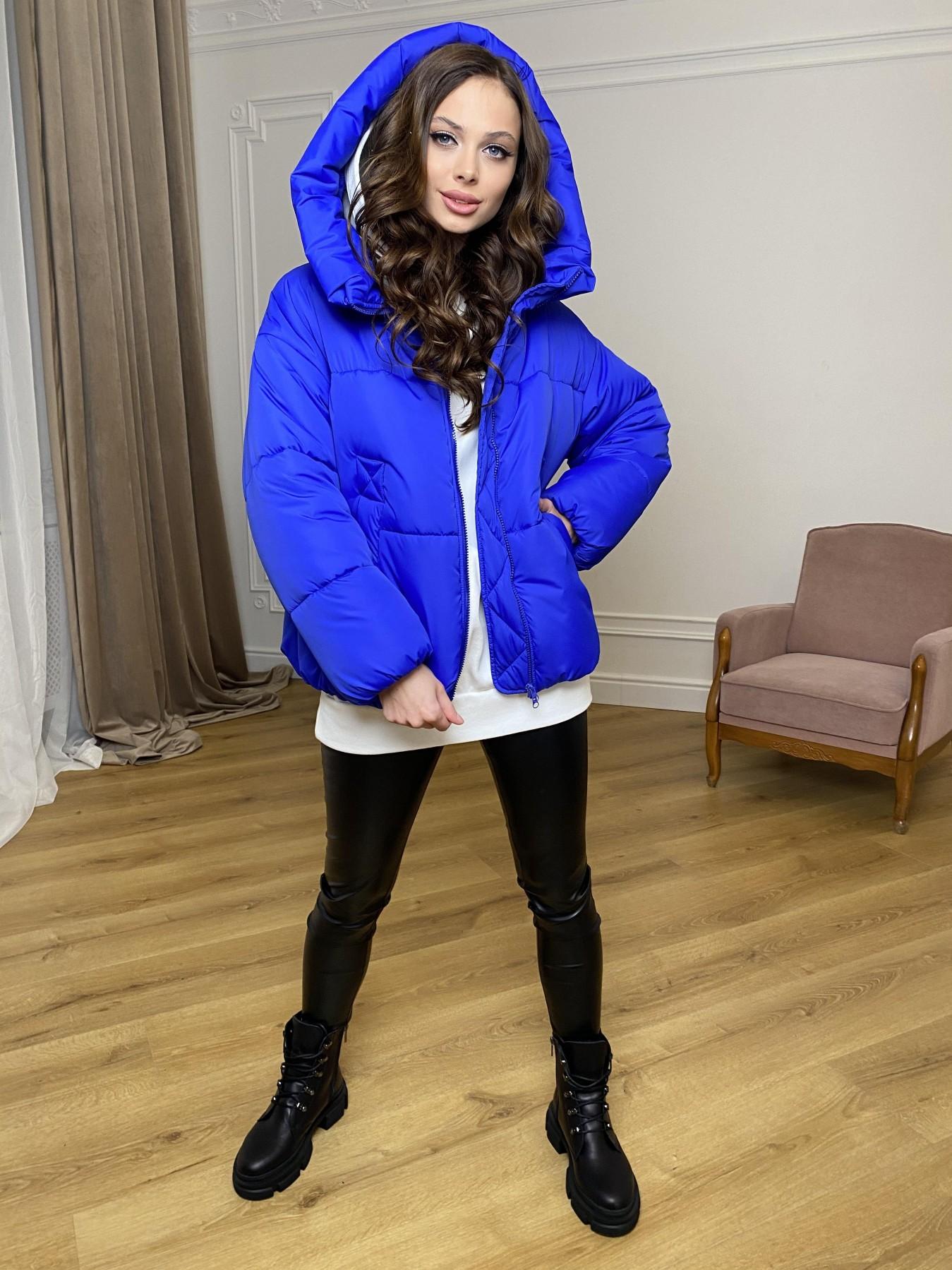 Нокс куртка из плащевой ткани 10535 АРТ. 46881 Цвет: Электрик 1052 - фото 11, интернет магазин tm-modus.ru