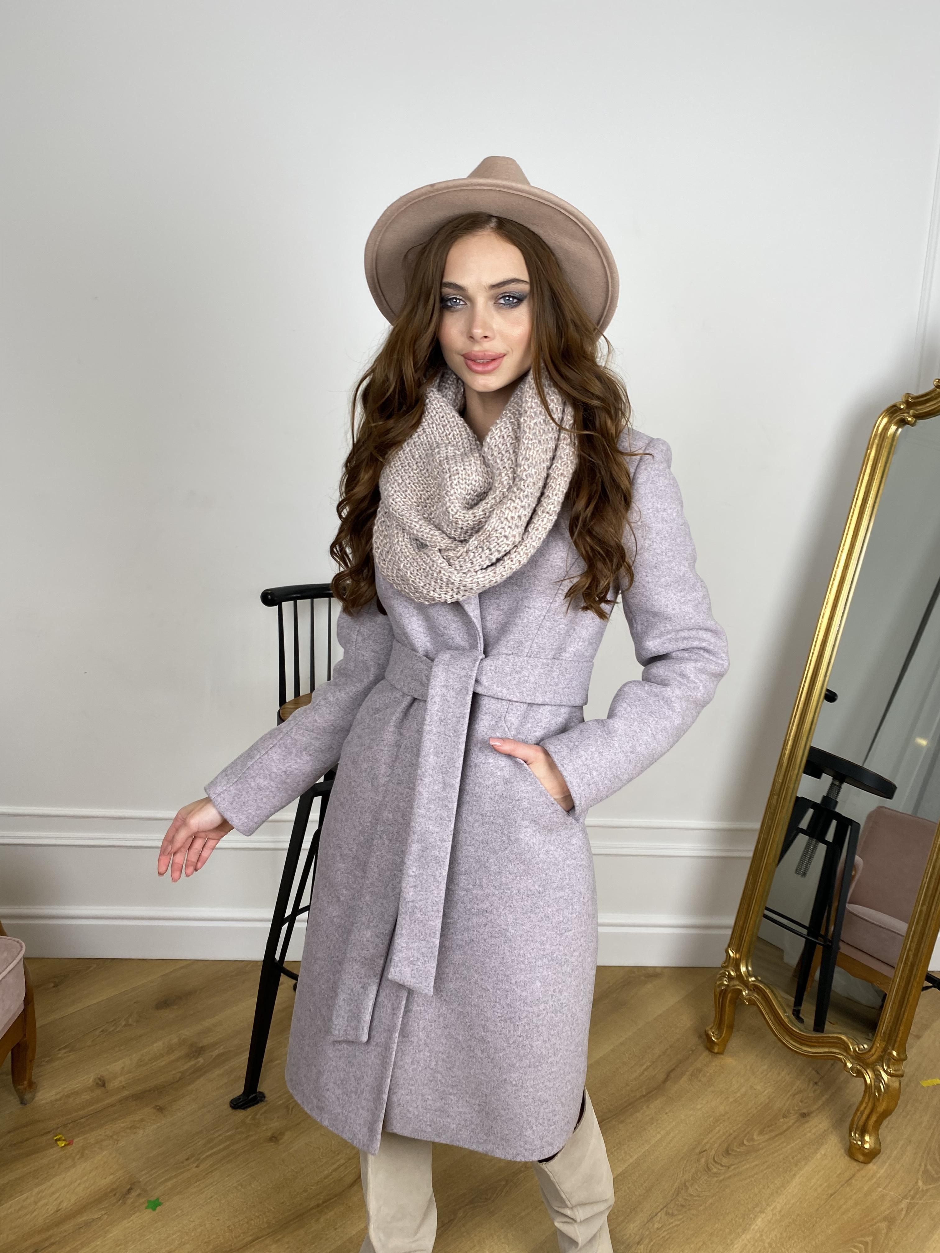Зимнее пальто оптом от Modus Мехико зимнее пальто из кашемирас с хомутом 10280