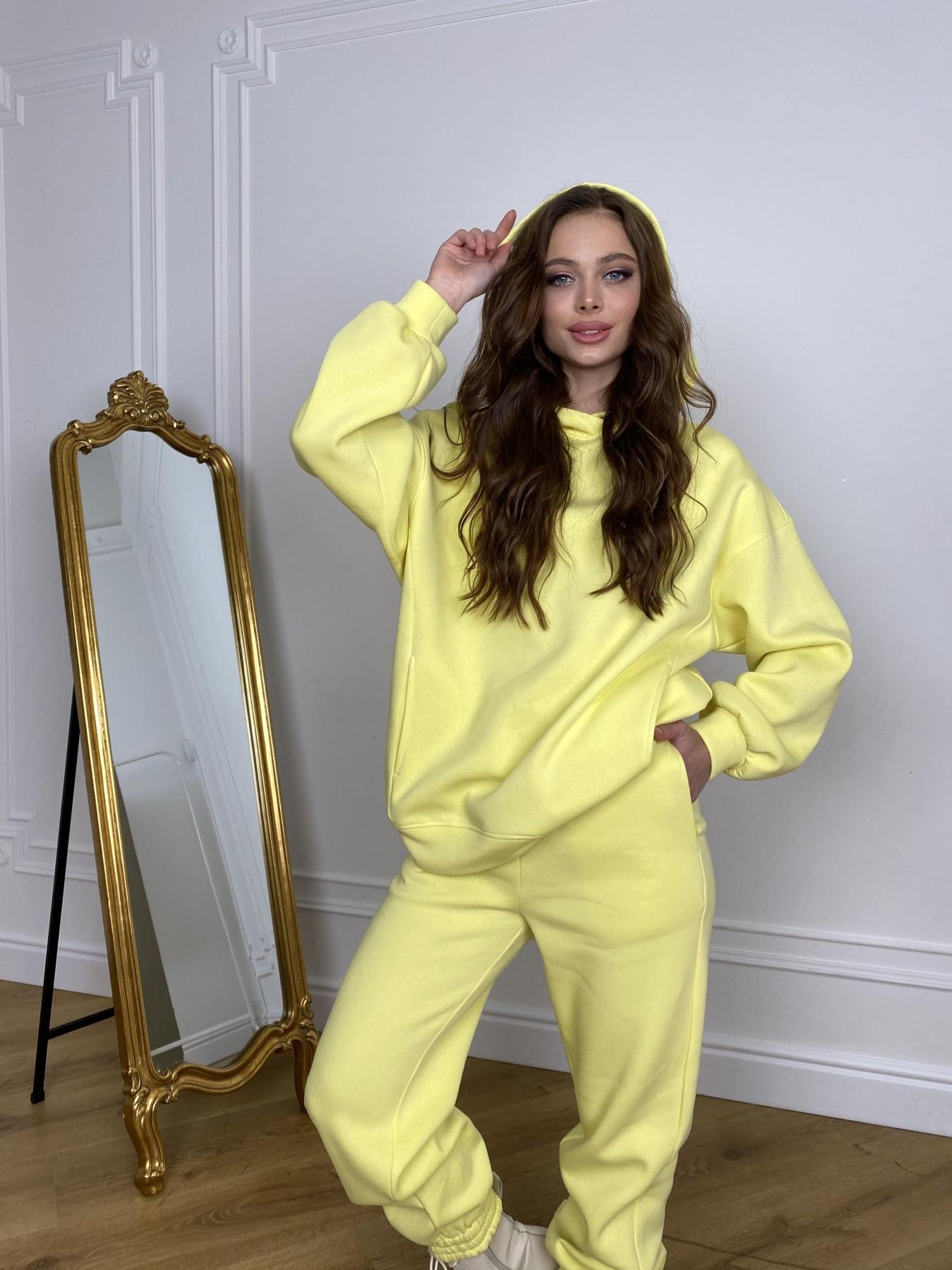 Марион костюм в  стиле Oversize  3х нитка 9651 АРТ. 46905 Цвет: Лимон - фото 2, интернет магазин tm-modus.ru