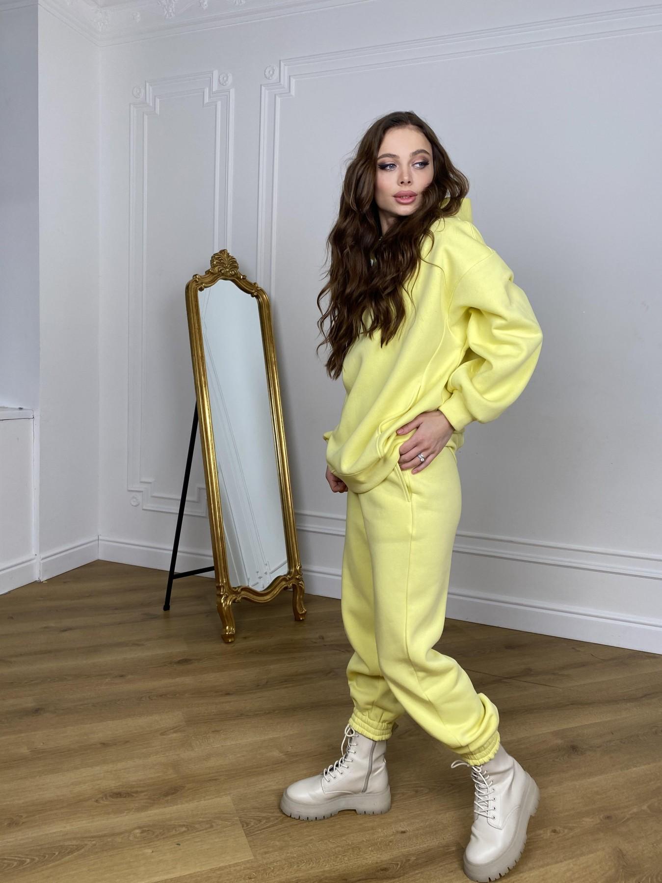 Марион костюм в  стиле Oversize  3х нитка 9651 АРТ. 46905 Цвет: Лимон - фото 6, интернет магазин tm-modus.ru
