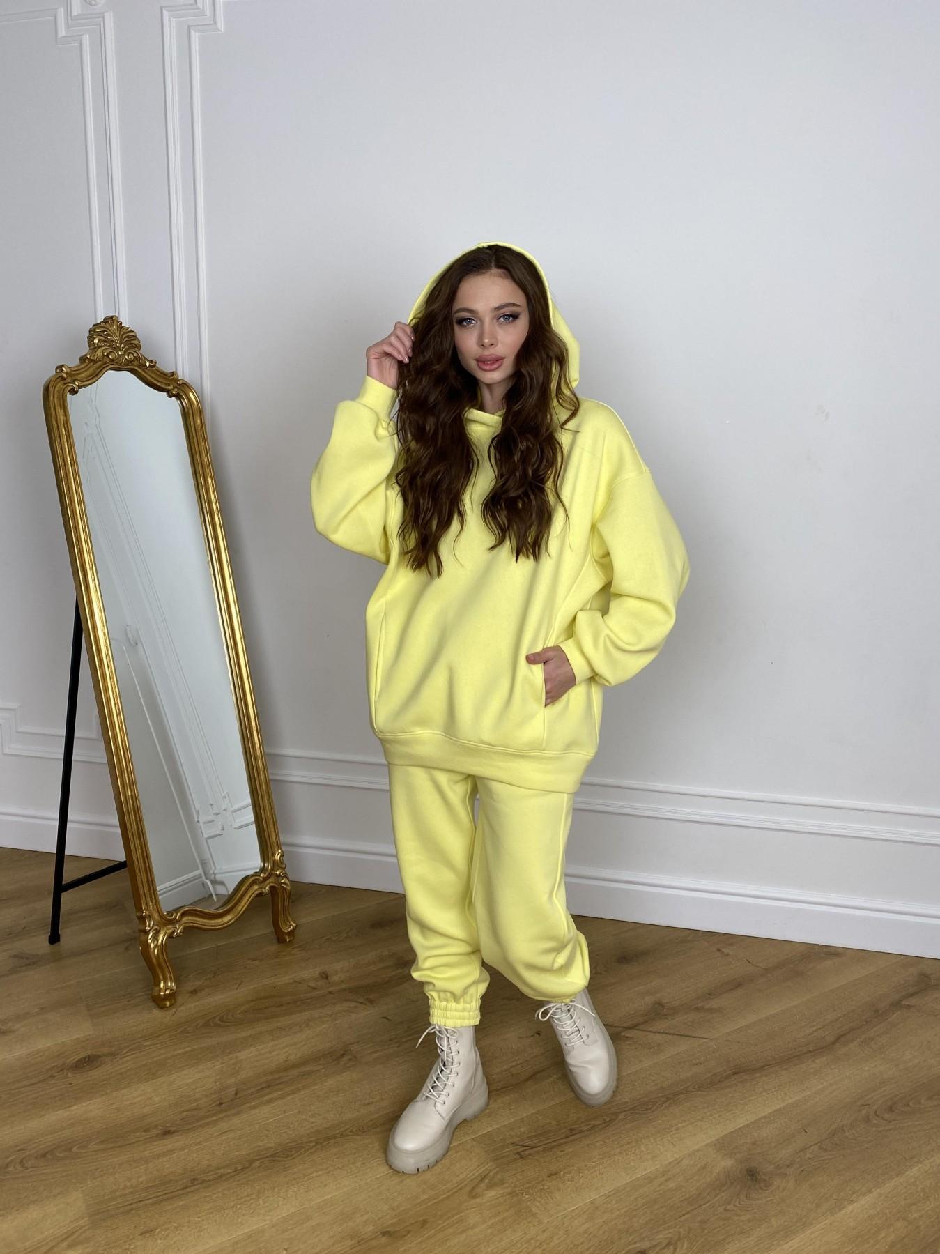 Марион костюм в  стиле Oversize  3х нитка 9651 АРТ. 46905 Цвет: Лимон - фото 7, интернет магазин tm-modus.ru