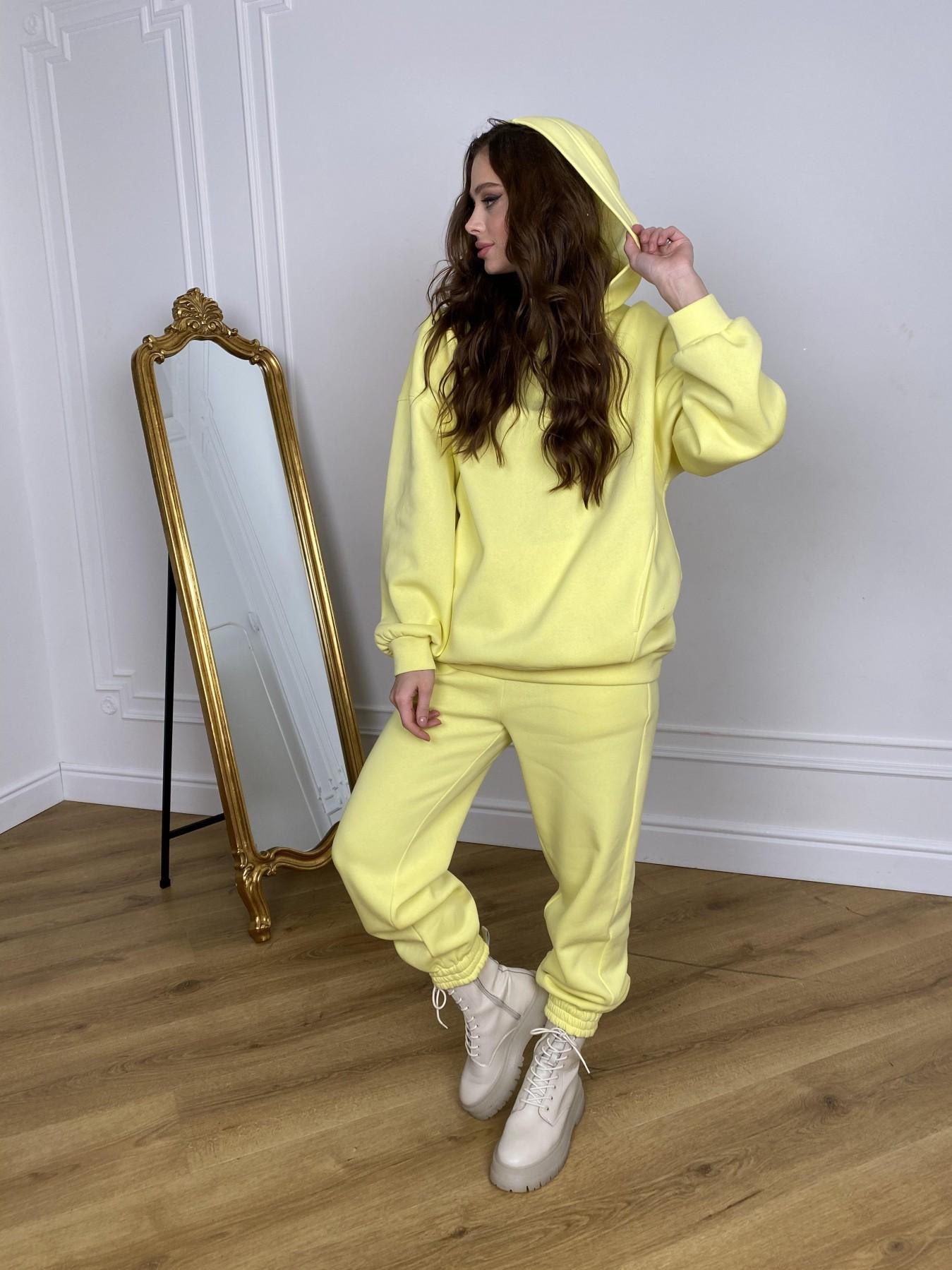 Марион костюм в  стиле Oversize  3х нитка 9651 АРТ. 46905 Цвет: Лимон - фото 9, интернет магазин tm-modus.ru