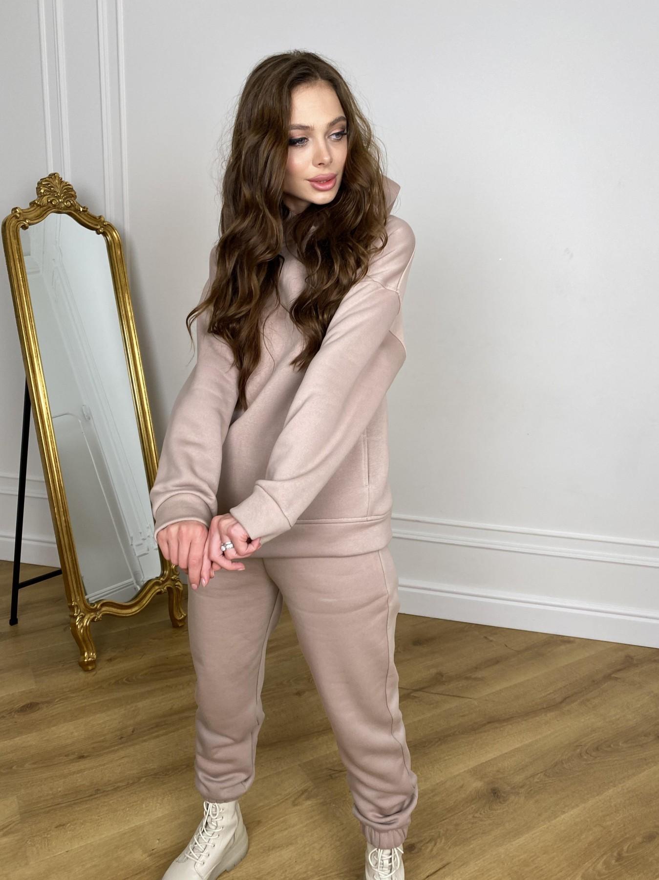 МДС Hot костюм с начесом 3х нитка  10519 АРТ. 46871 Цвет: Кофе - фото 4, интернет магазин tm-modus.ru