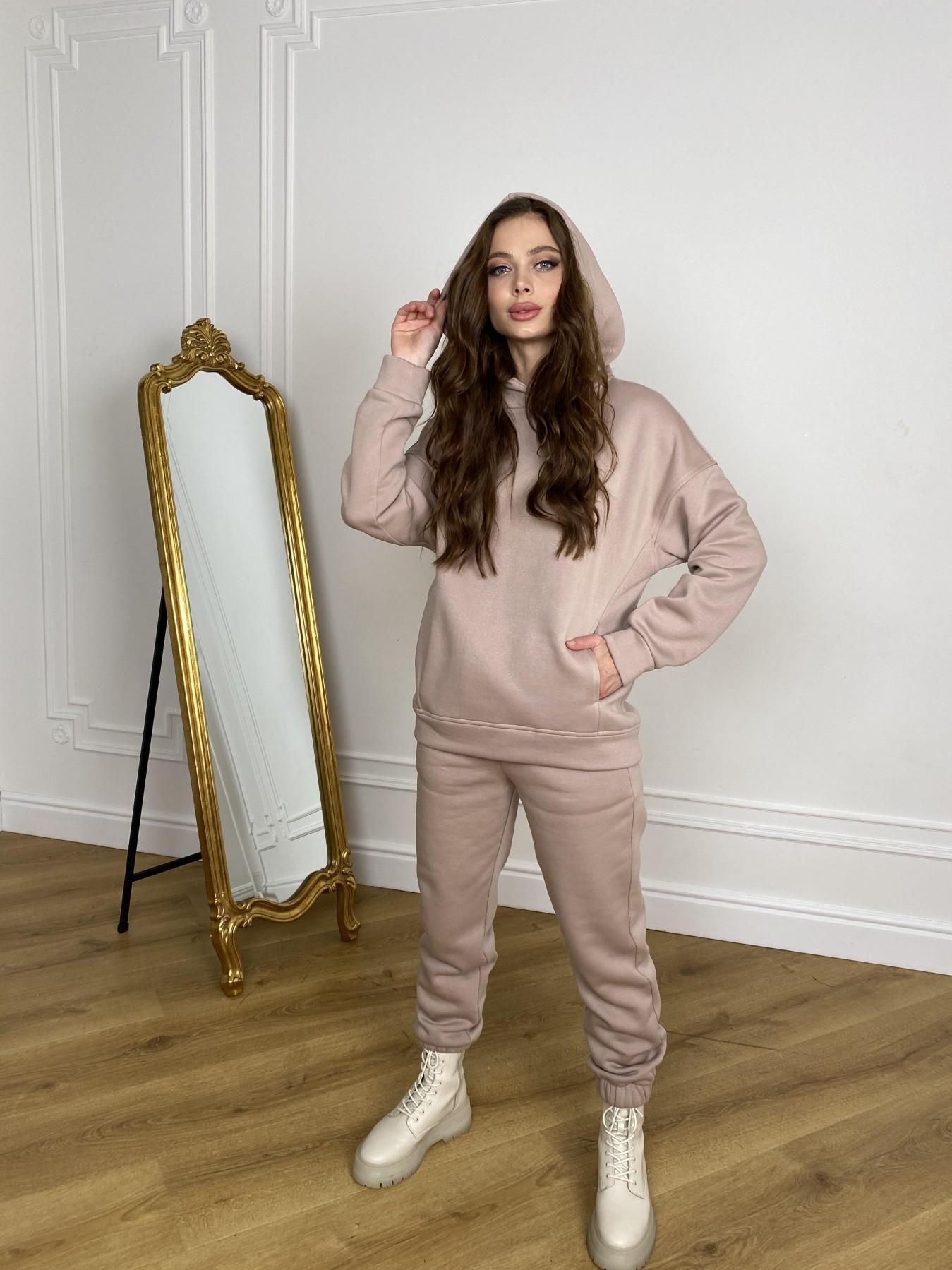 МДС Hot костюм с начесом 3х нитка  10519 АРТ. 46871 Цвет: Кофе - фото 8, интернет магазин tm-modus.ru
