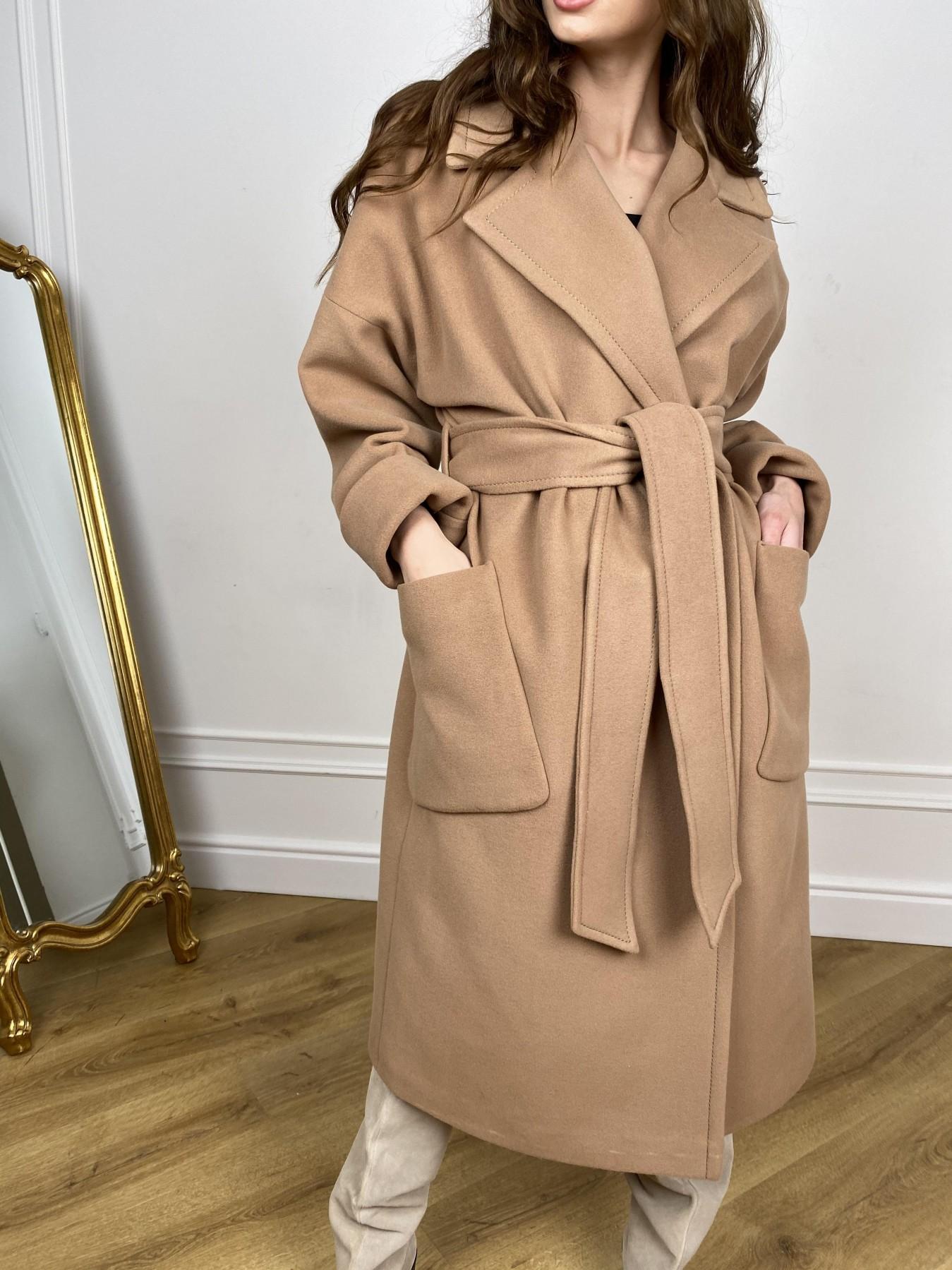 Кейт  пальто из кашемира 10539 АРТ. 46894 Цвет: Кемел - фото 1, интернет магазин tm-modus.ru