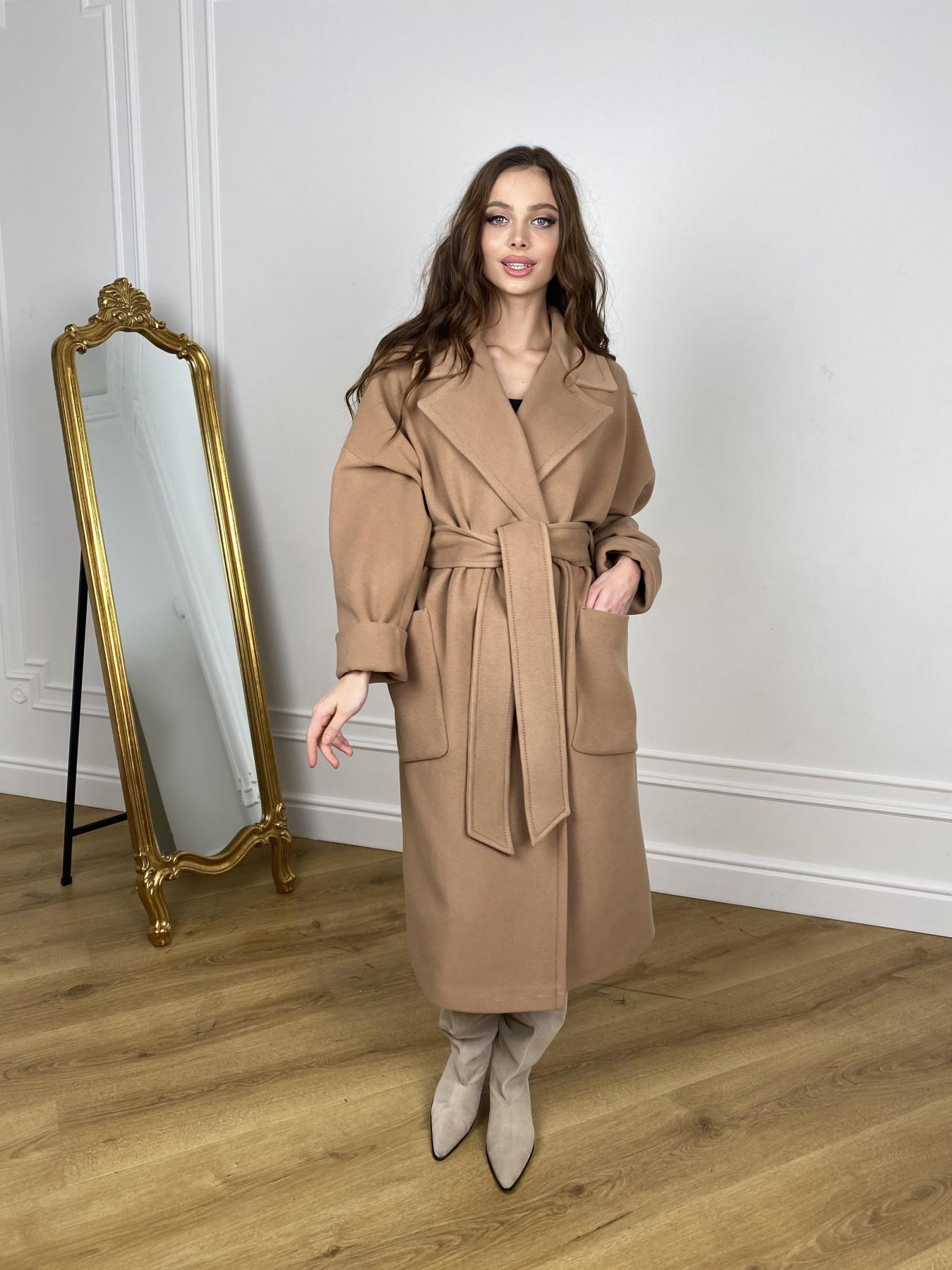 Кейт  пальто из кашемира 10539 АРТ. 46894 Цвет: Кемел - фото 2, интернет магазин tm-modus.ru