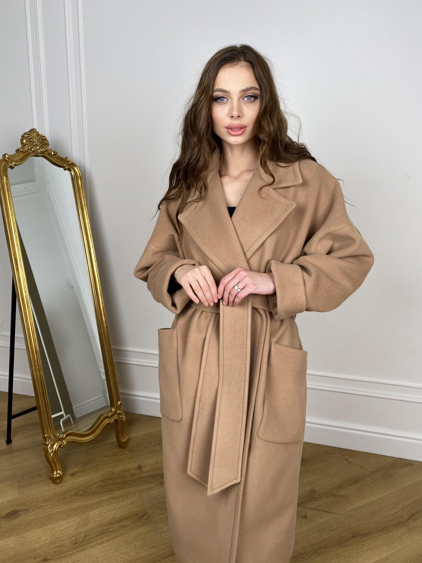 Кейт  пальто из кашемира 10539 АРТ. 46894 Цвет: Кемел - фото 3, интернет магазин tm-modus.ru
