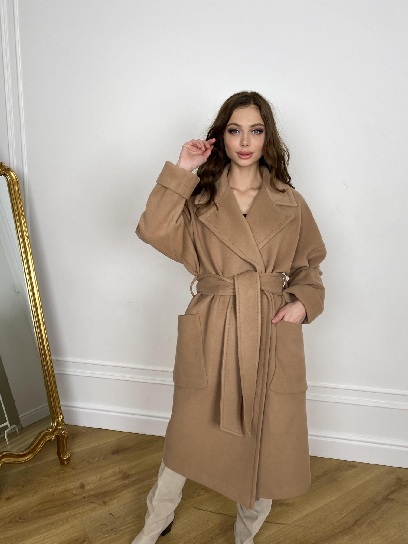 Кейт  пальто из кашемира 10539 АРТ. 46894 Цвет: Кемел - фото 4, интернет магазин tm-modus.ru