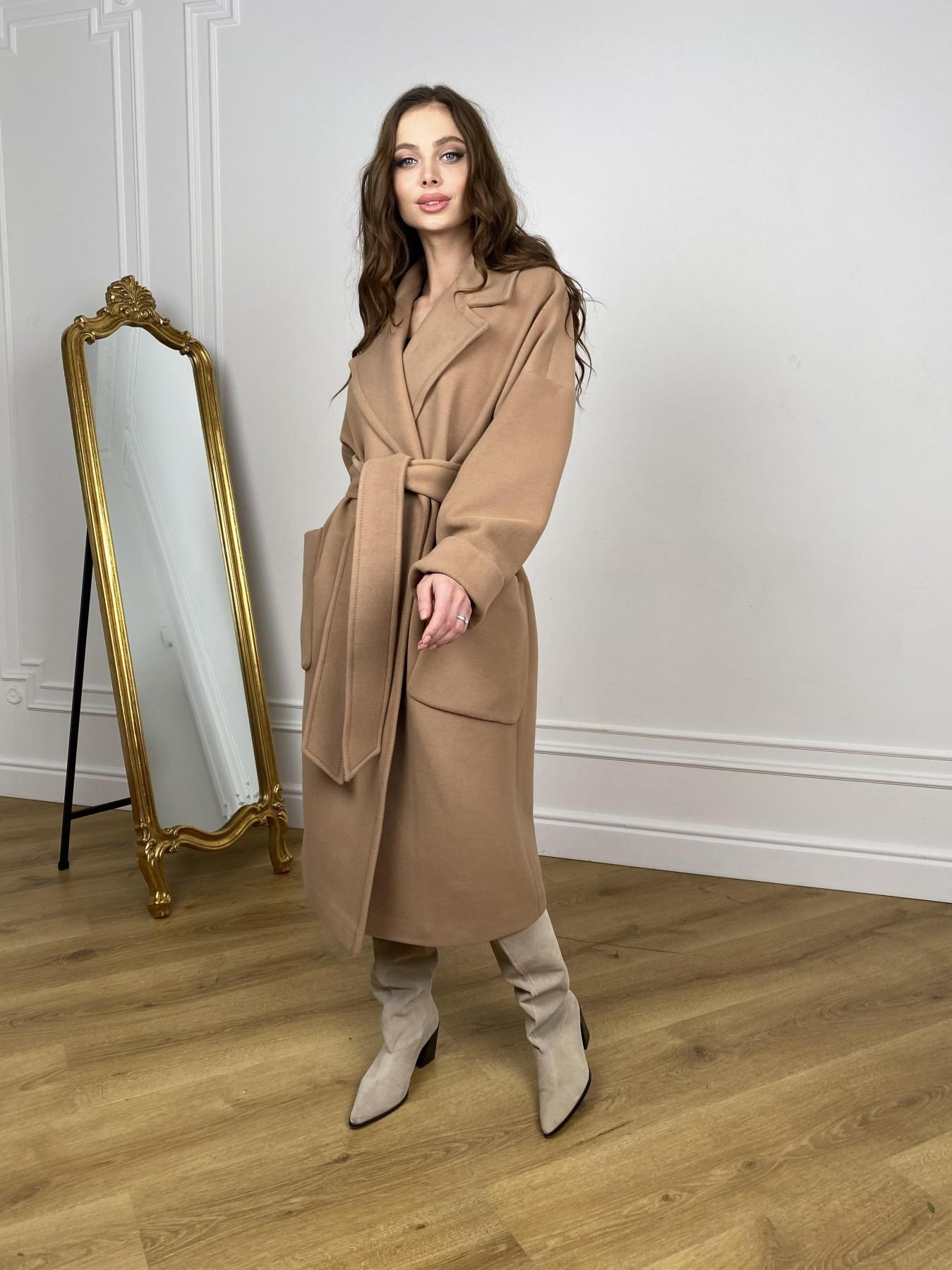 Кейт  пальто из кашемира 10539 АРТ. 46894 Цвет: Кемел - фото 5, интернет магазин tm-modus.ru