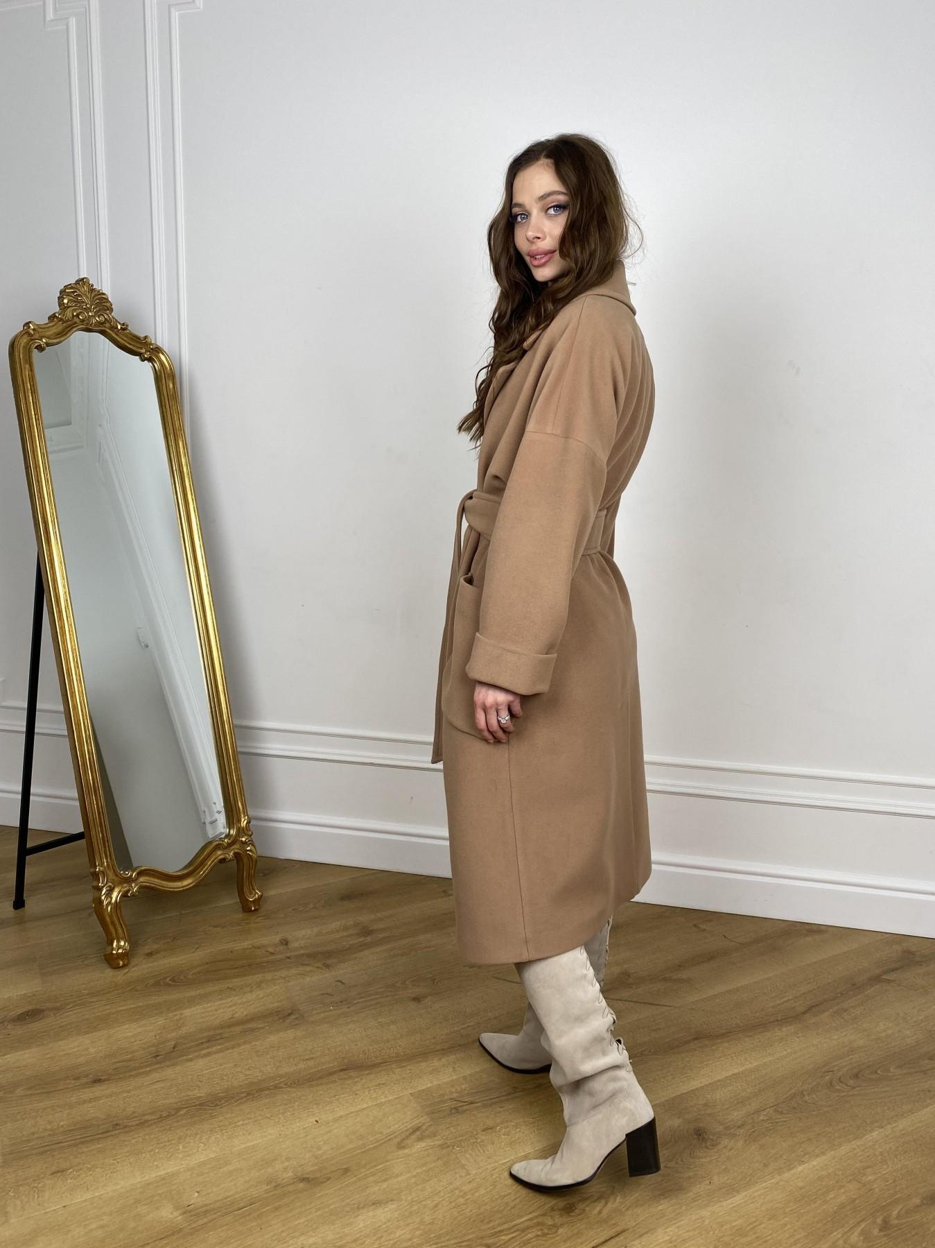 Кейт  пальто из кашемира 10539 АРТ. 46894 Цвет: Кемел - фото 8, интернет магазин tm-modus.ru