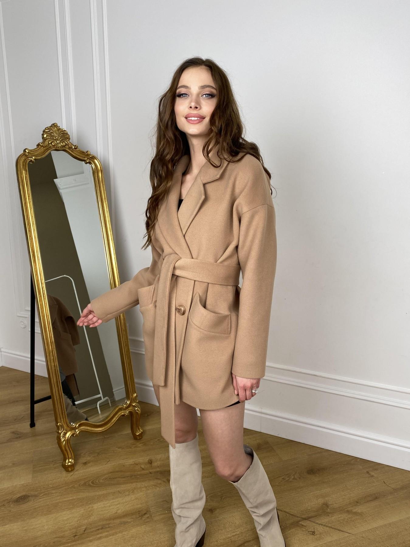 Купить зимнее женское пальто в Украине Modus Бонд пальто из кашемира  10571