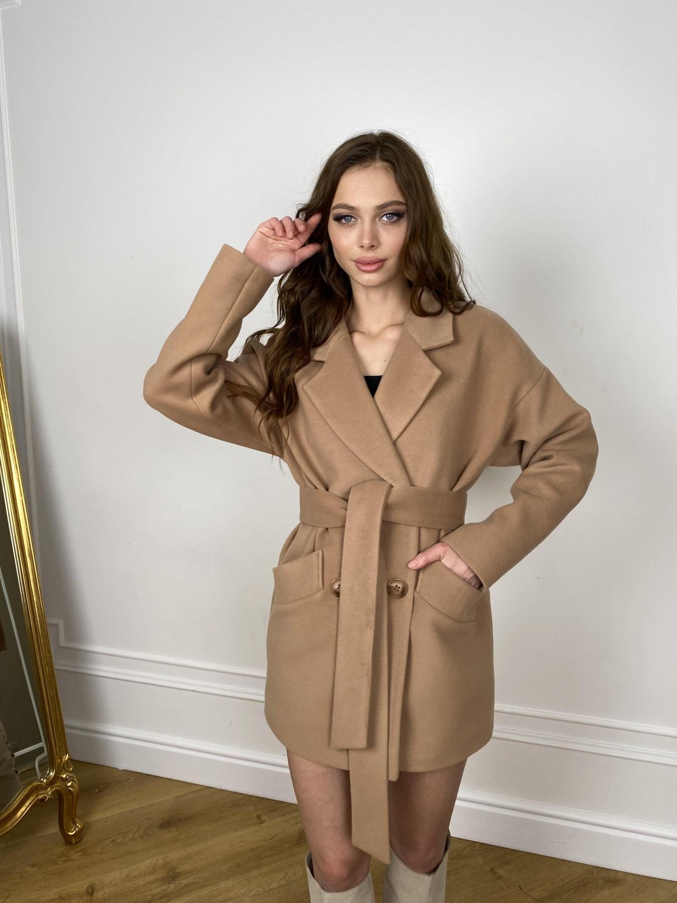 Бонд пальто из кашемира  10571 АРТ. 46927 Цвет: Кемел - фото 2, интернет магазин tm-modus.ru