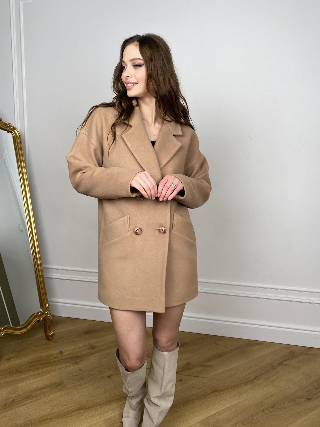Бонд пальто из кашемира  10571 АРТ. 46927 Цвет: Кемел - фото 4, интернет магазин tm-modus.ru