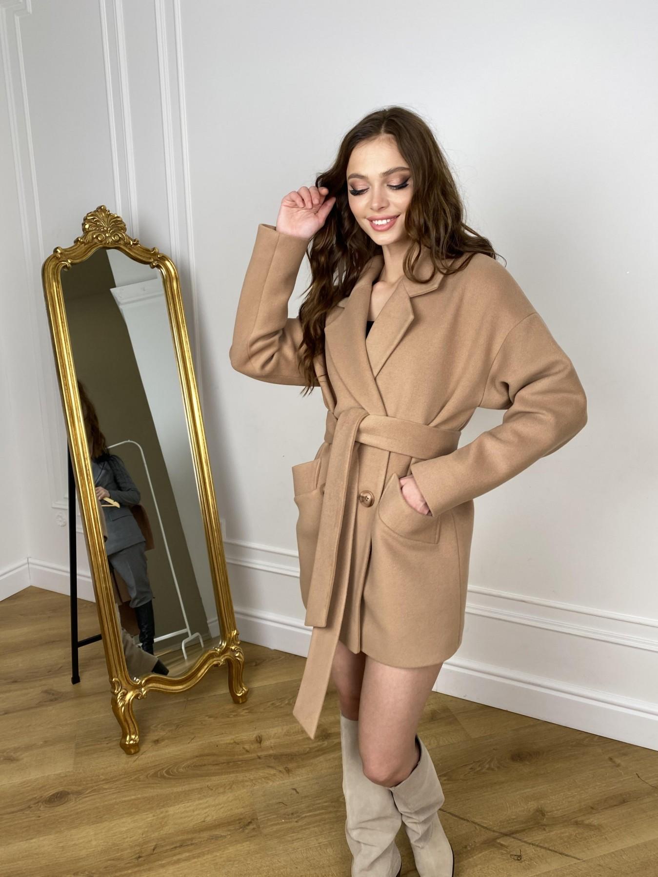 Бонд пальто из кашемира  10571 АРТ. 46927 Цвет: Кемел - фото 6, интернет магазин tm-modus.ru