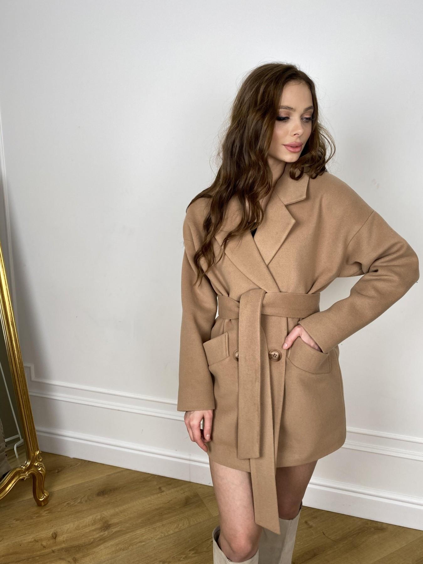 Бонд пальто из кашемира  10571 АРТ. 46927 Цвет: Кемел - фото 7, интернет магазин tm-modus.ru