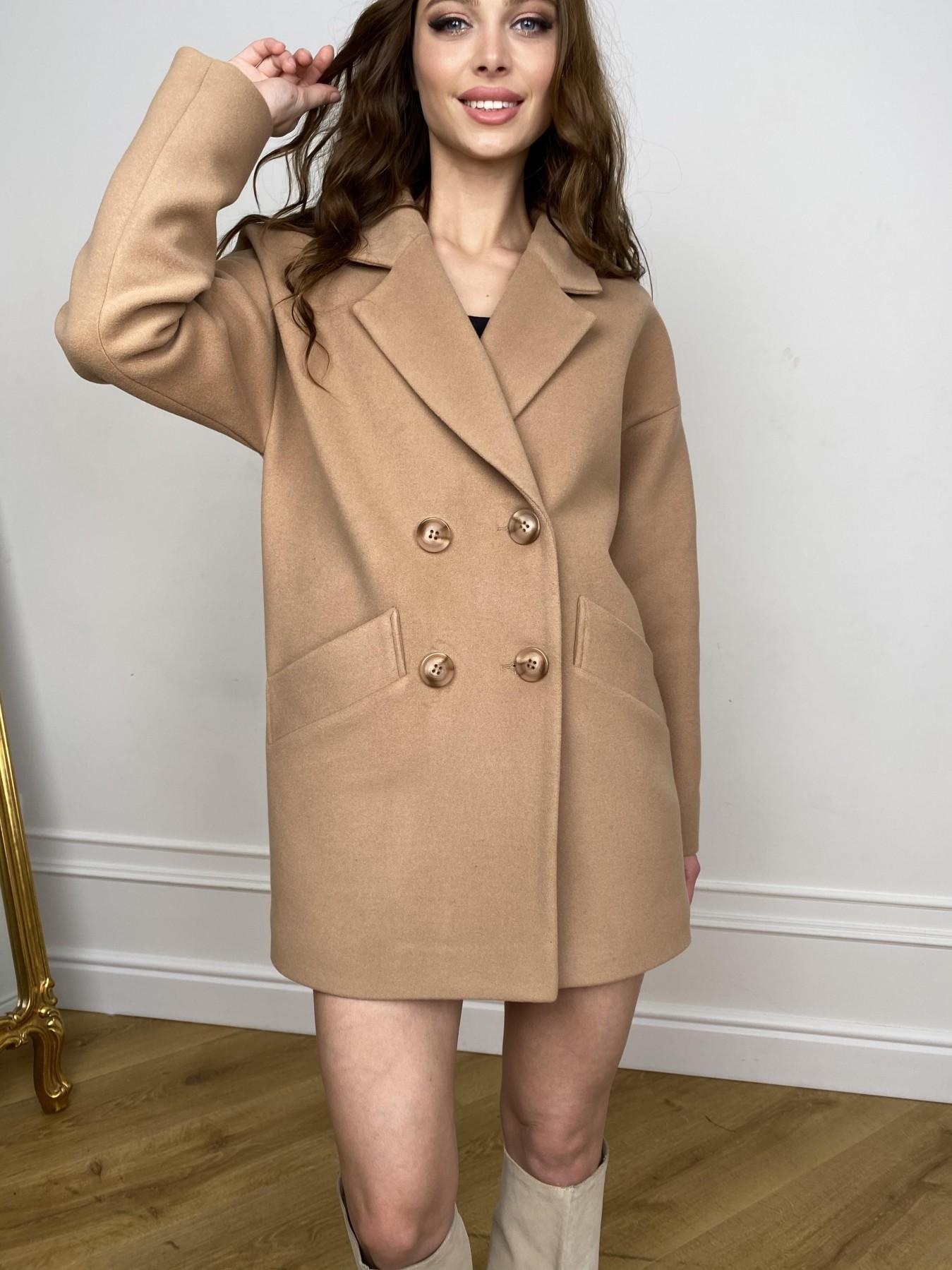 Бонд пальто из кашемира  10571 АРТ. 46927 Цвет: Кемел - фото 8, интернет магазин tm-modus.ru