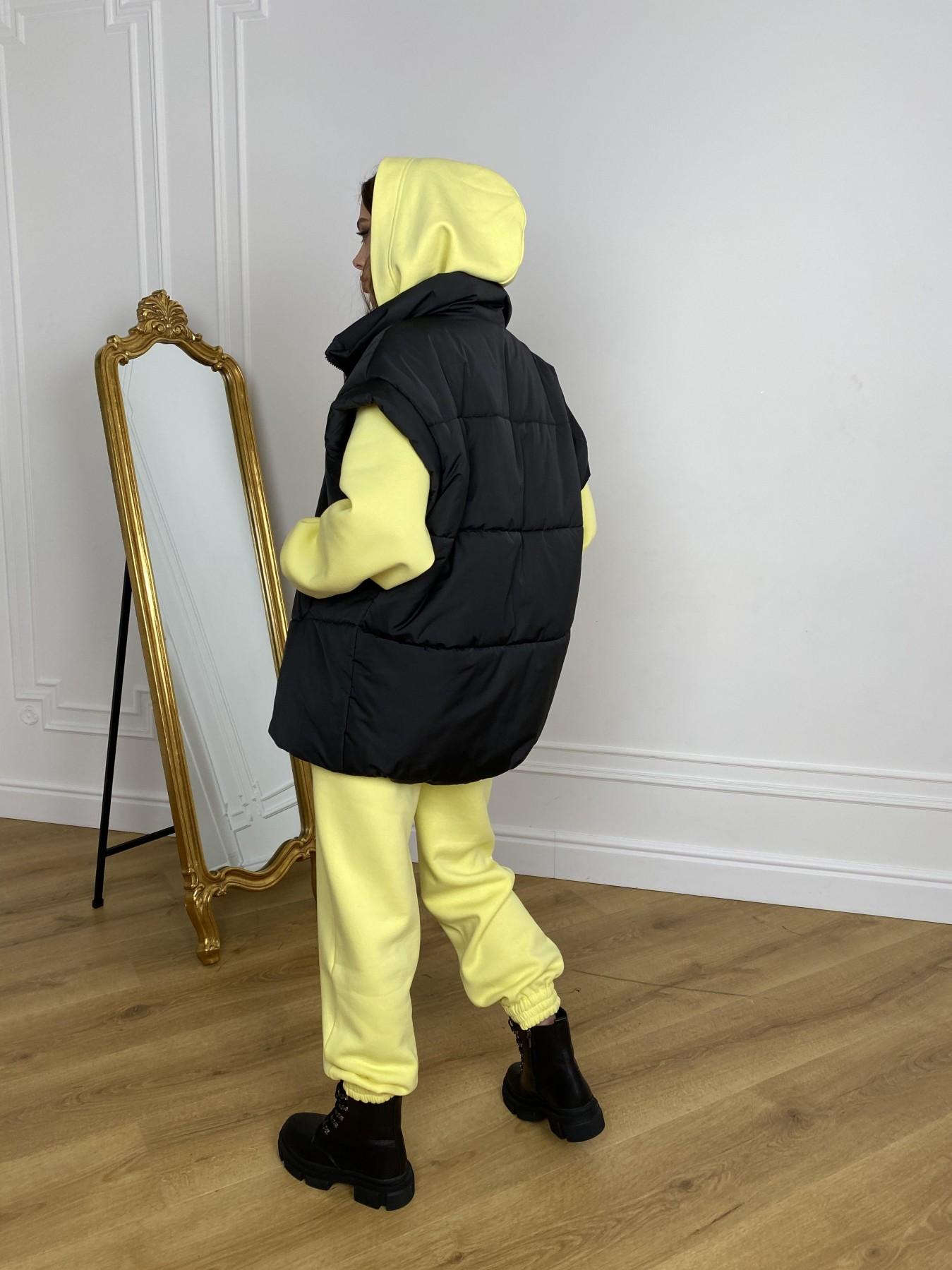 Нюрнберг жилет из плащевой ткани  10598 АРТ. 46952 Цвет: Черный - фото 4, интернет магазин tm-modus.ru