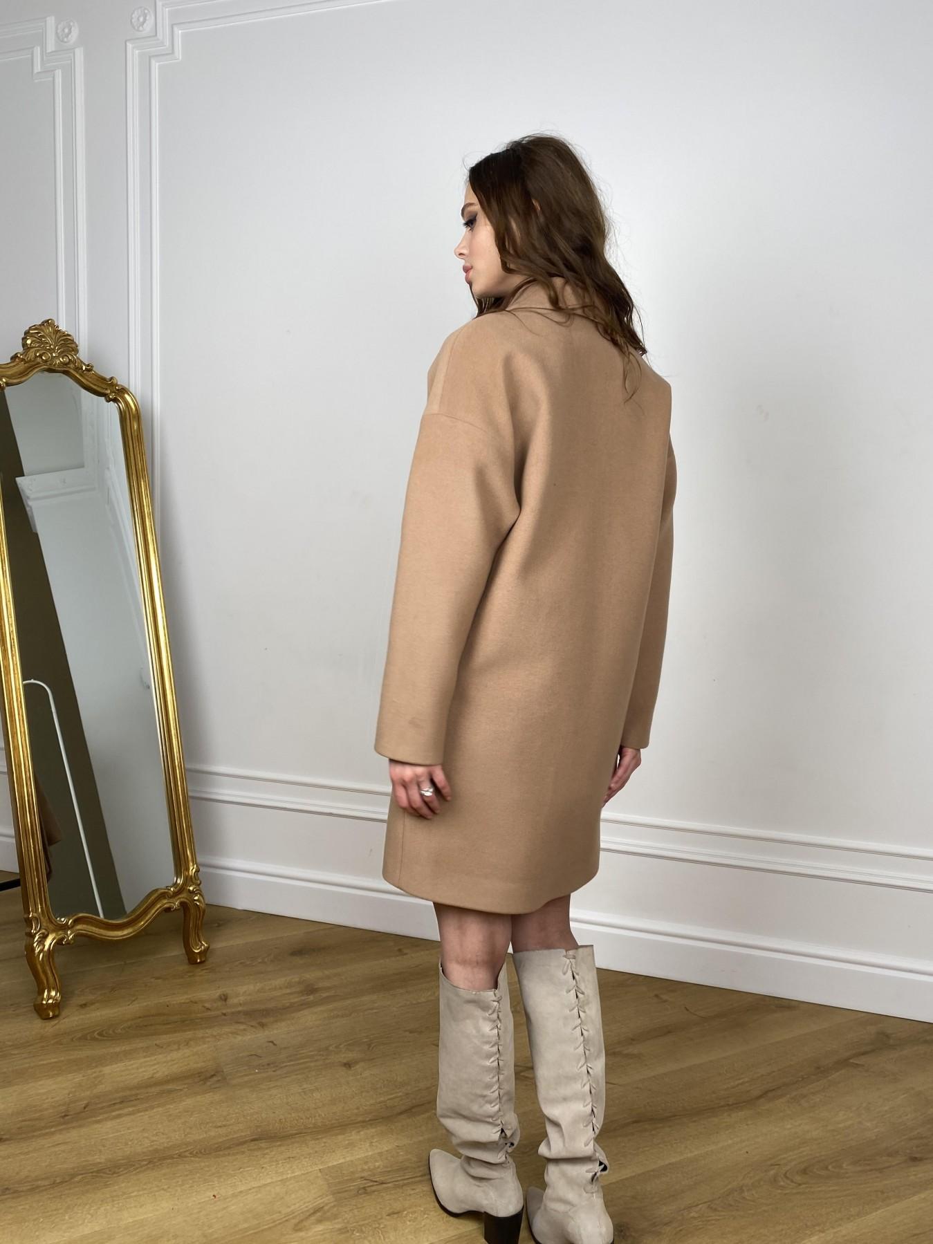 Сенсей пальто из кашемира 10572 АРТ. 46929 Цвет: Кемел - фото 4, интернет магазин tm-modus.ru
