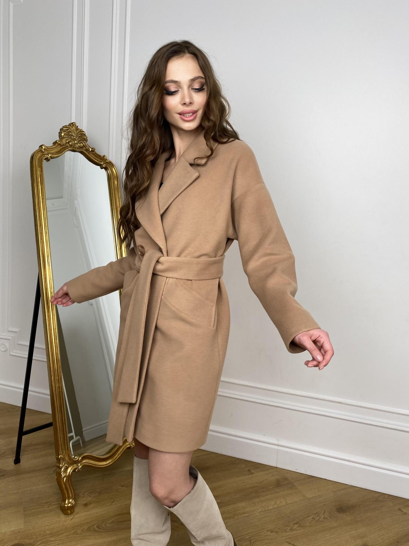 Сенсей пальто из кашемира 10572 АРТ. 46929 Цвет: Кемел - фото 6, интернет магазин tm-modus.ru