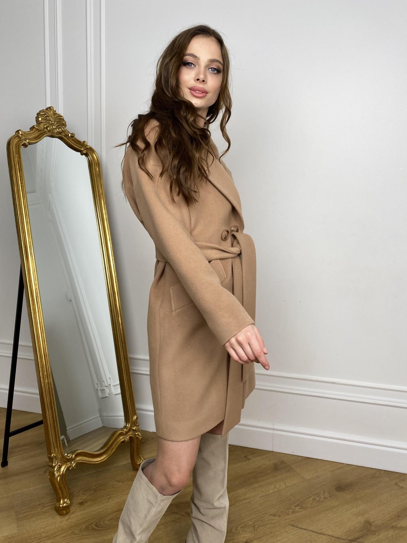 Сенсей пальто из кашемира 10572 АРТ. 46929 Цвет: Кемел - фото 7, интернет магазин tm-modus.ru