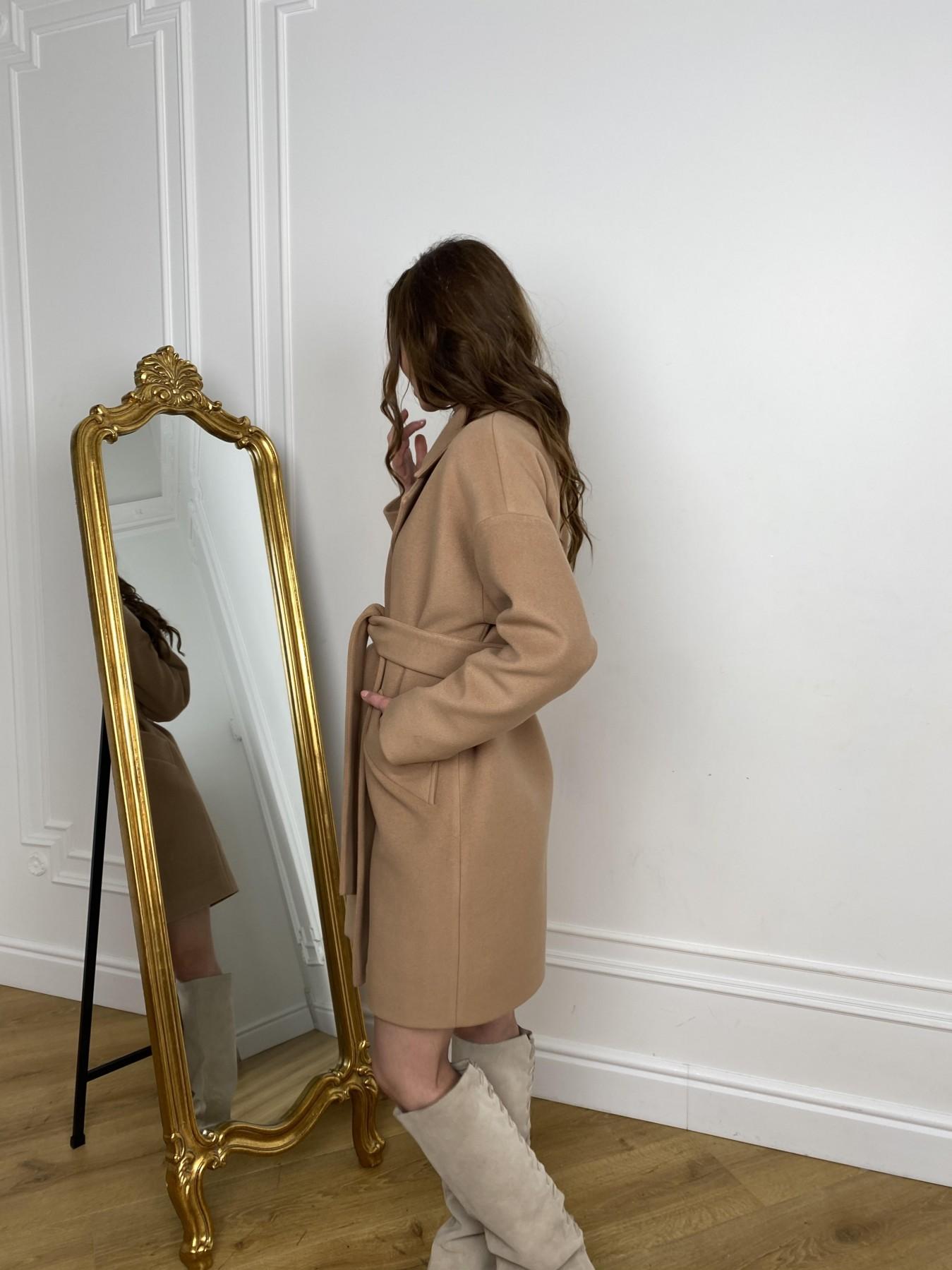 Сенсей пальто из кашемира 10572 АРТ. 46929 Цвет: Кемел - фото 8, интернет магазин tm-modus.ru