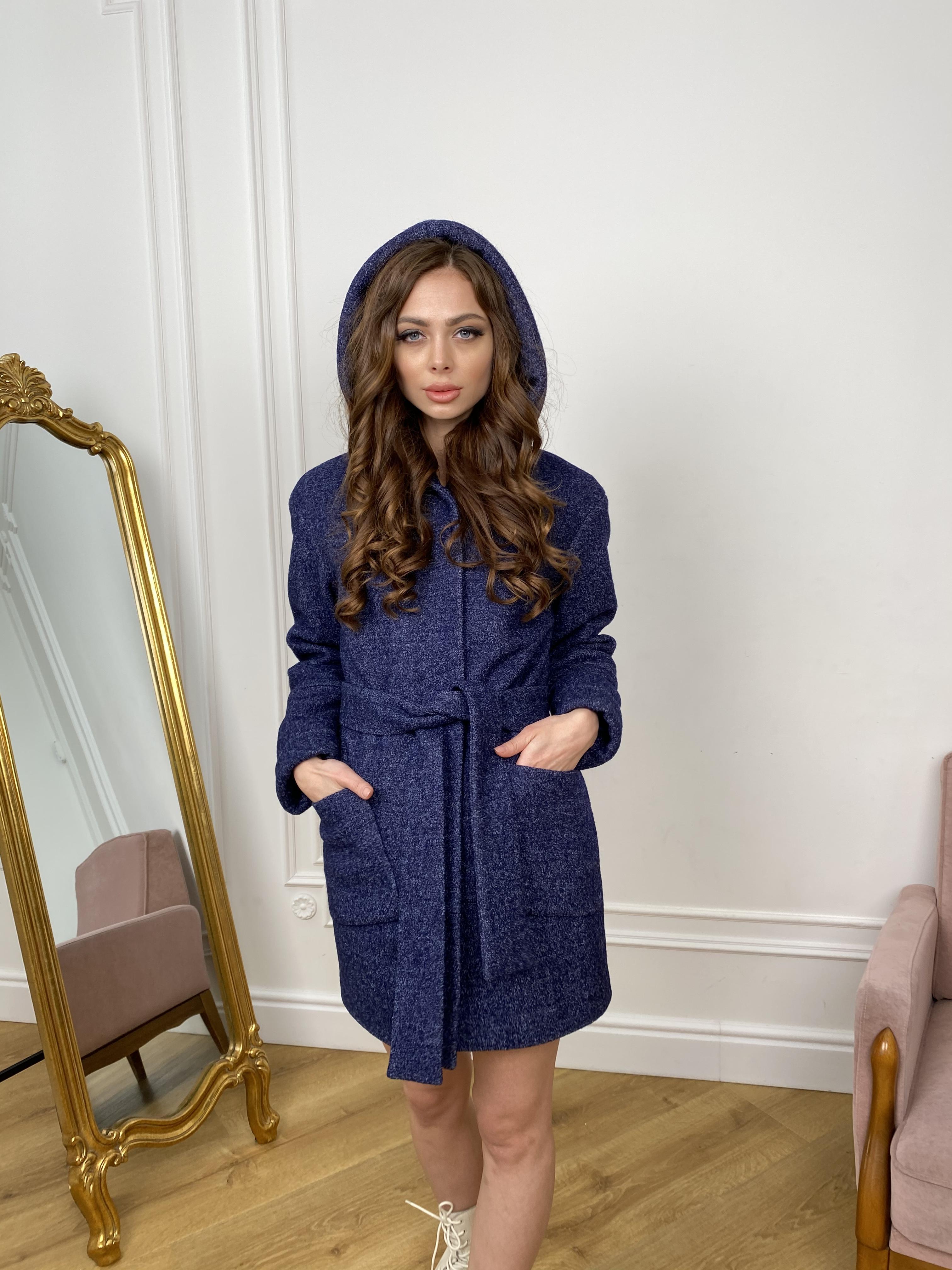Пальто Анита 9934 АРТ. 46218 Цвет: т. синий 2 - фото 3, интернет магазин tm-modus.ru