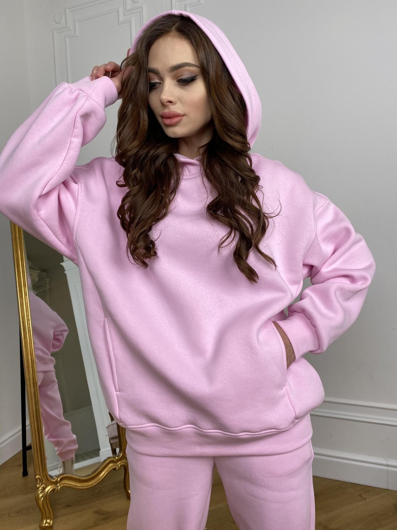 Марион костюм в  стиле Oversize  3х нитка 9651 АРТ. 46922 Цвет: Розовый - фото 5, интернет магазин tm-modus.ru