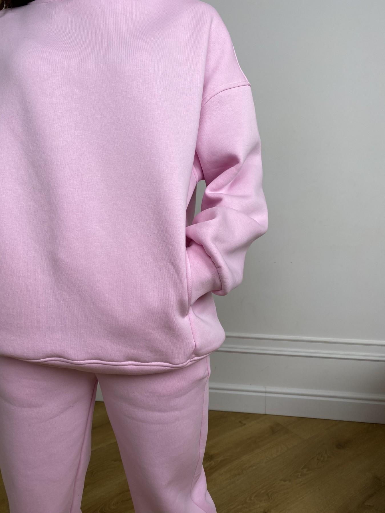 Марион костюм в  стиле Oversize  3х нитка 9651 АРТ. 46922 Цвет: Розовый - фото 7, интернет магазин tm-modus.ru