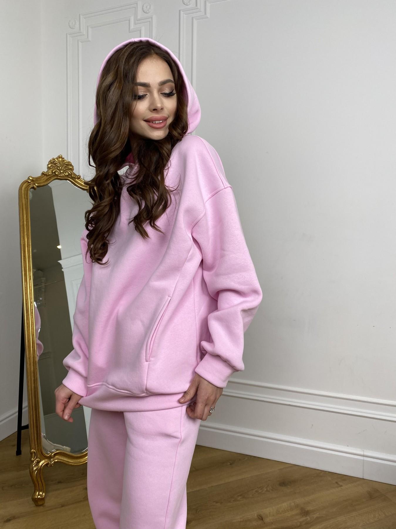 Марион костюм в  стиле Oversize  3х нитка 9651 АРТ. 46922 Цвет: Розовый - фото 11, интернет магазин tm-modus.ru