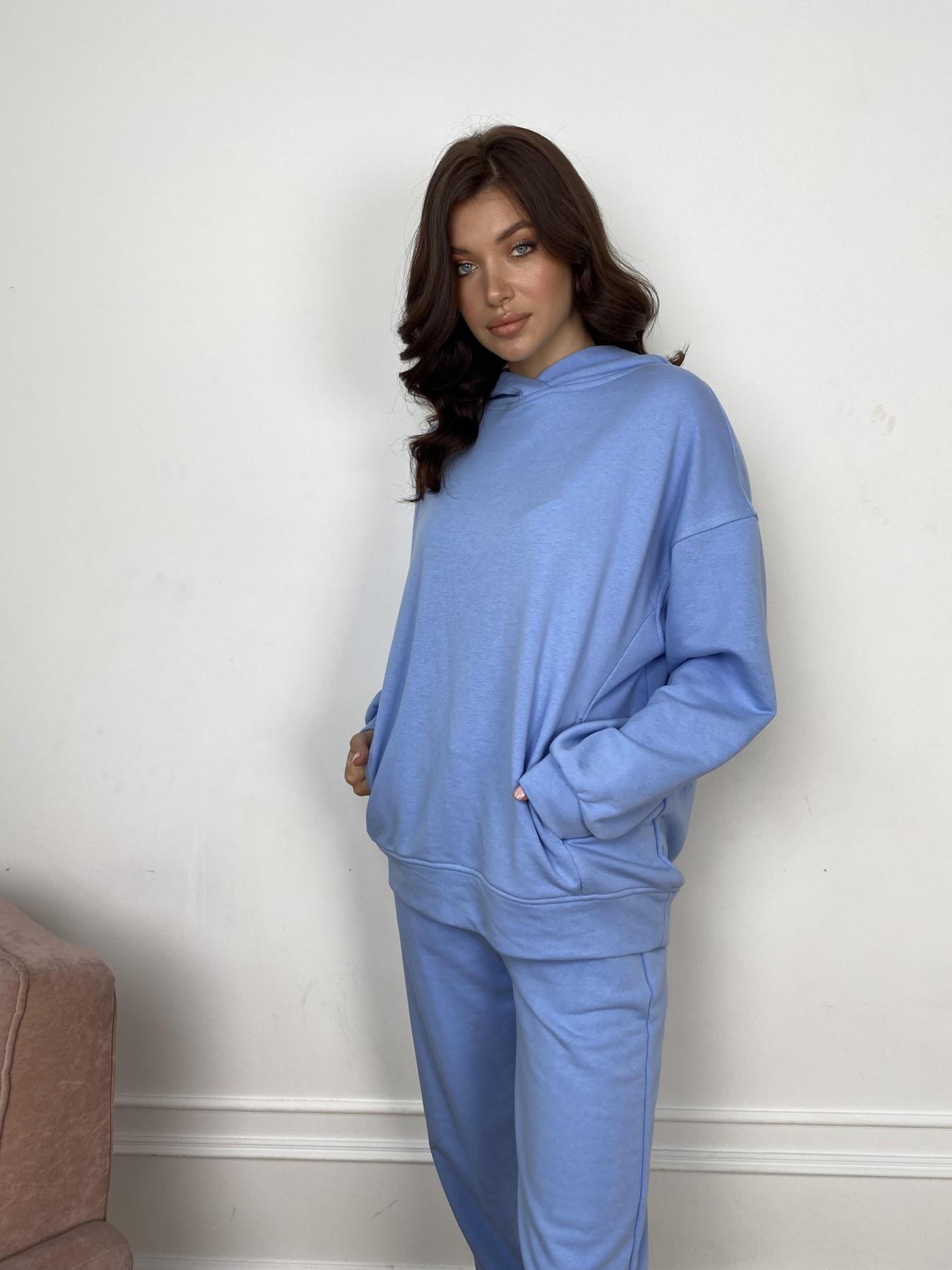 Марион костюм из 3х нитки 10581 АРТ. 46937 Цвет: Голубой - фото 1, интернет магазин tm-modus.ru