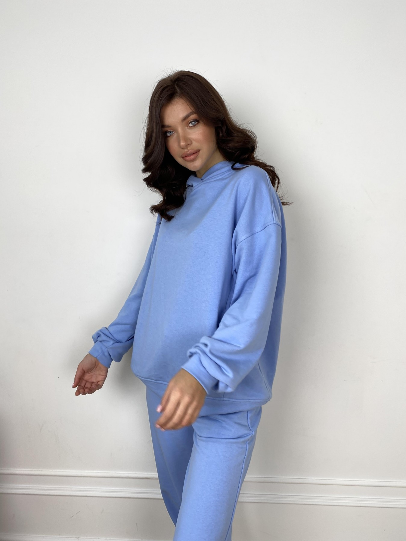 Марион костюм из 3х нитки 10581 АРТ. 46937 Цвет: Голубой - фото 2, интернет магазин tm-modus.ru